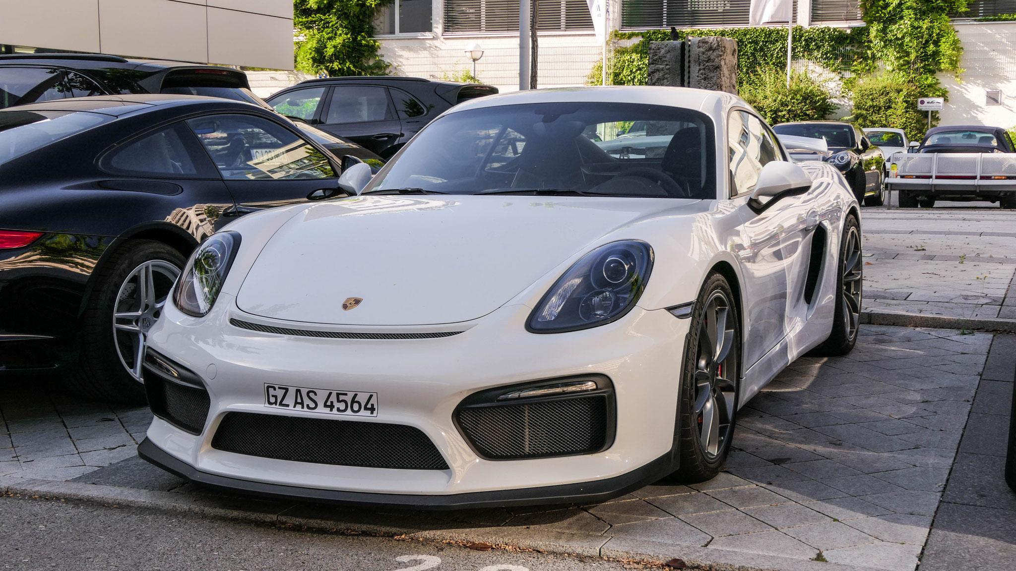 Porsche Cayman GT4 - GZ-AS-4564