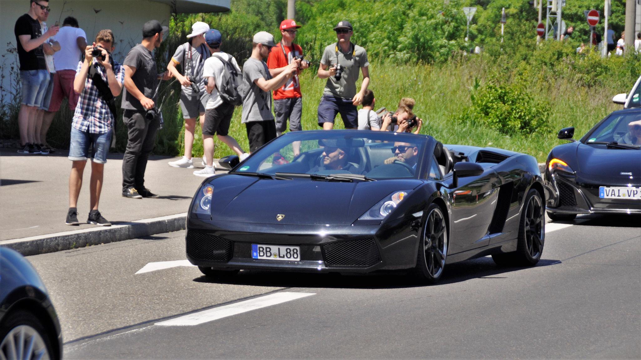 Lamborghini Gallardo Spyder - BB-L-88