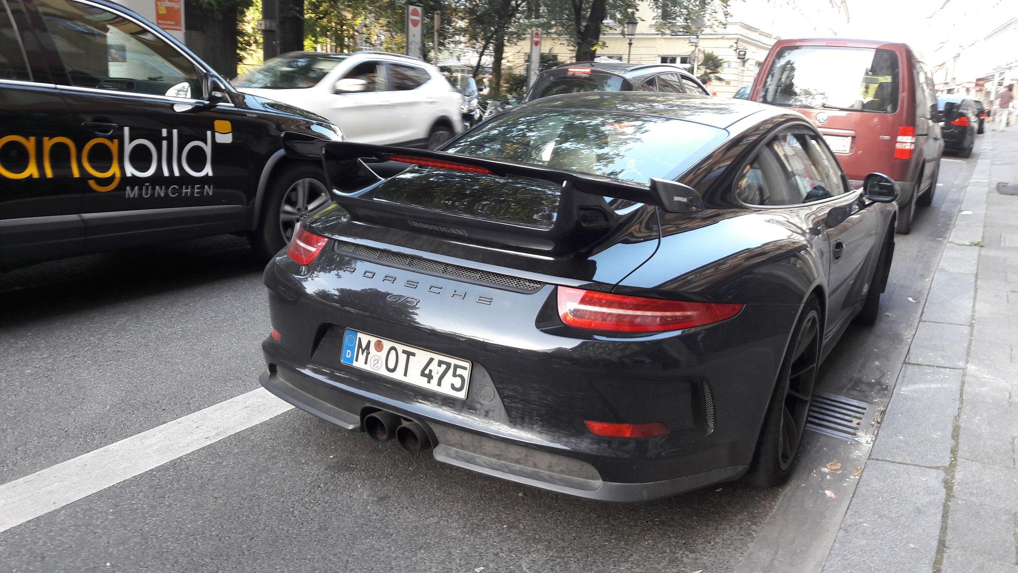 Porsche 991 GT3 - M-OT-475
