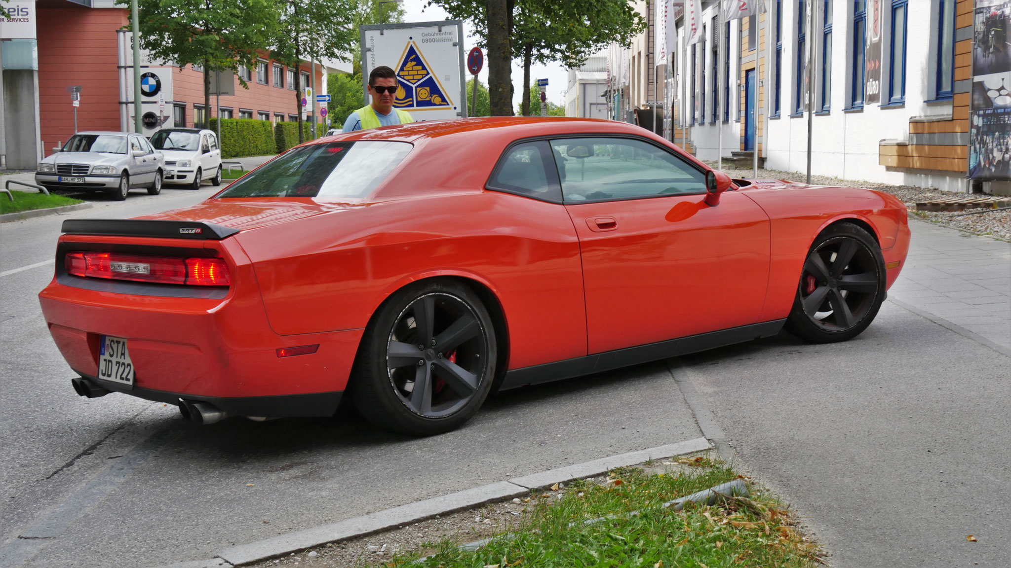 Dodge Challenger SRT8 - STA-JD-722