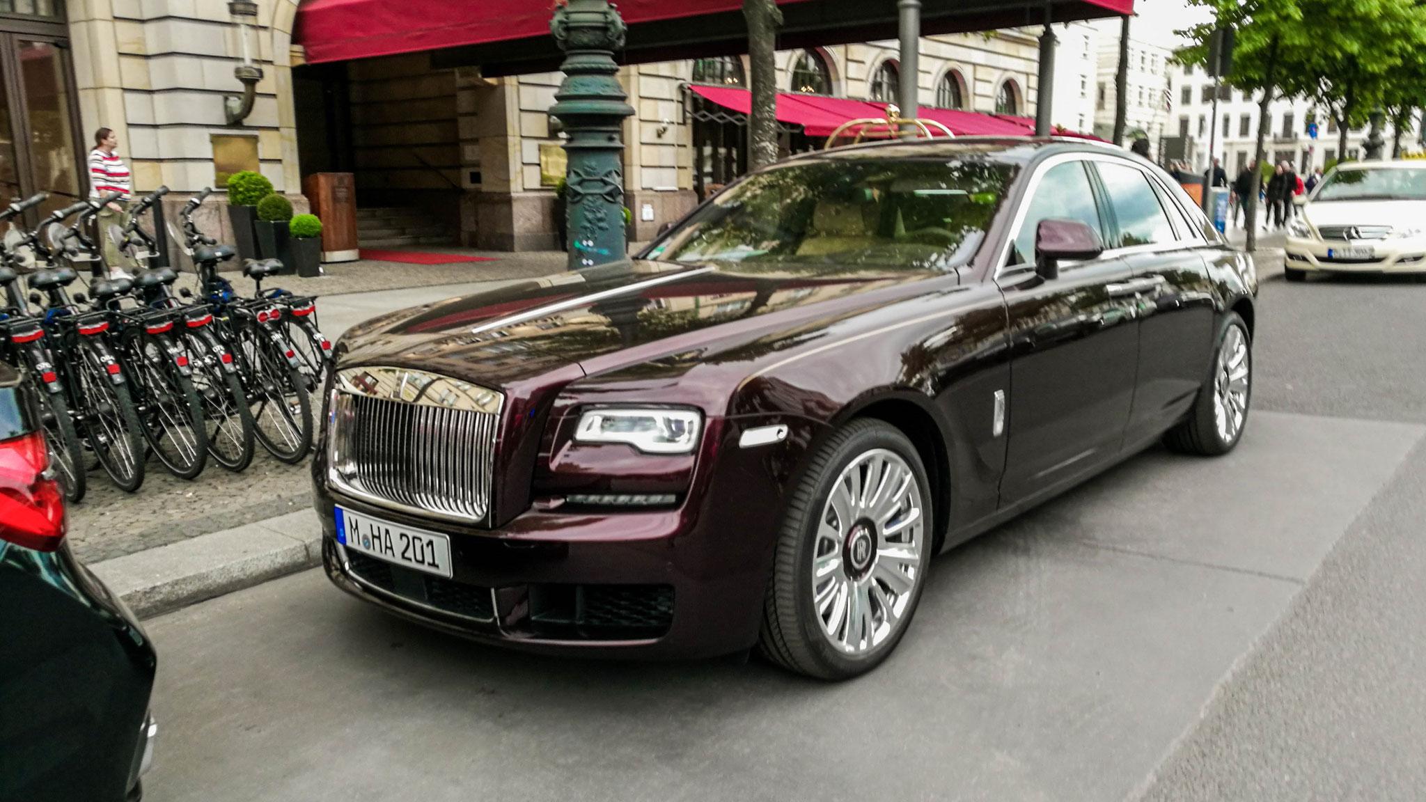 Rolls Royce Ghost -M-HA-201