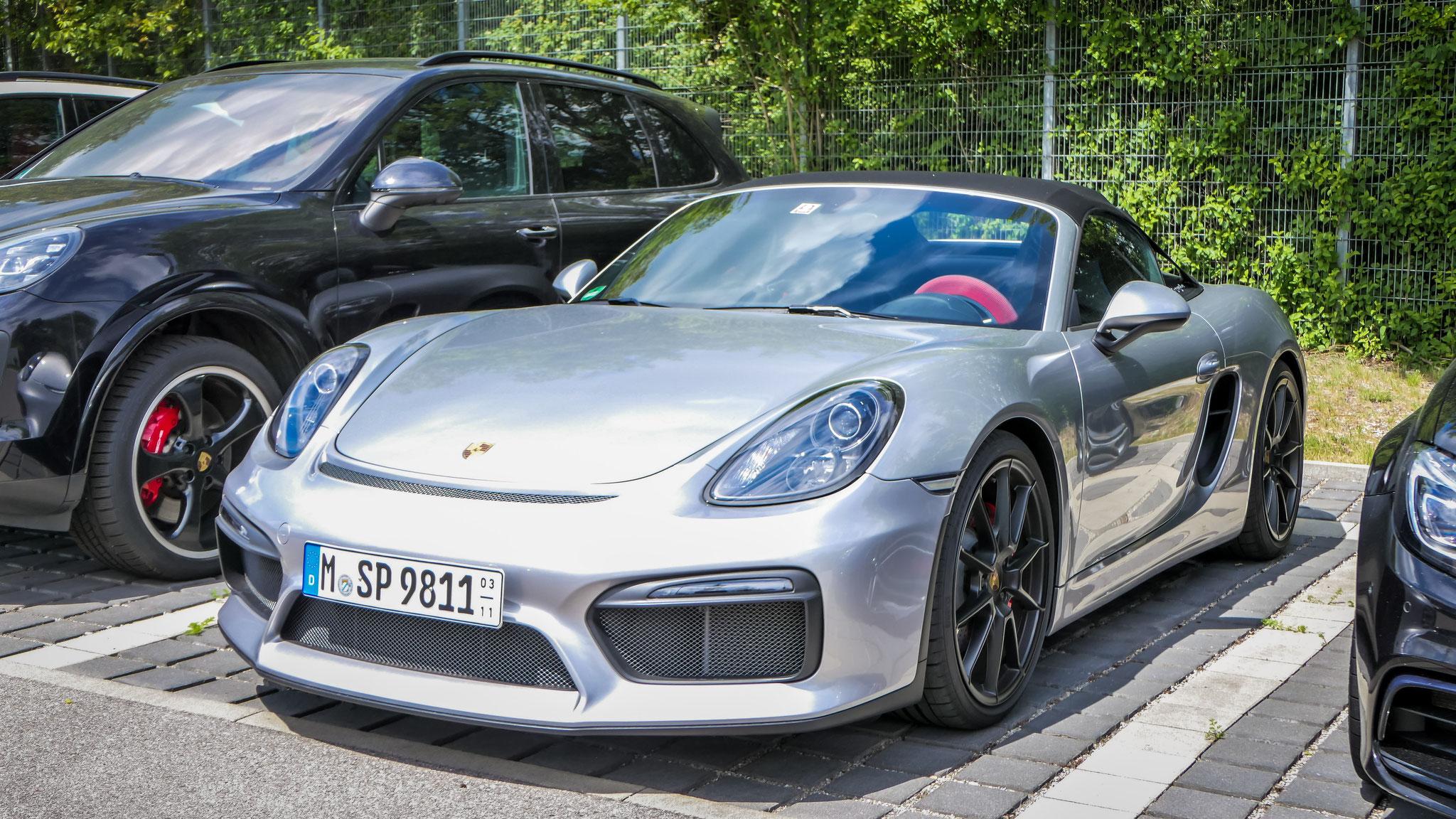 Porsche 718 Spyder - M-SP-9811