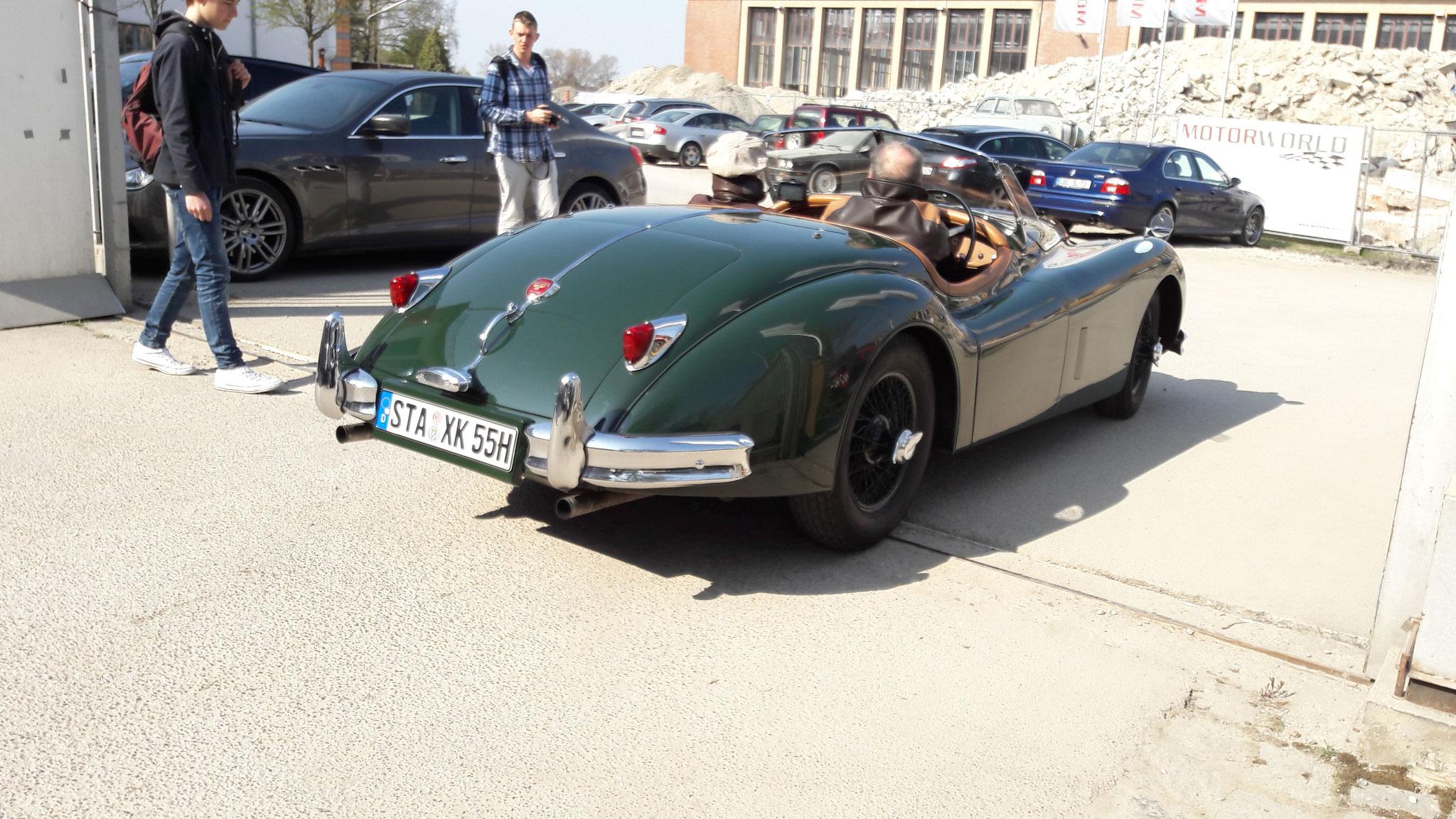 Jaguar XK 140 Cabrio - STA-XK-55H
