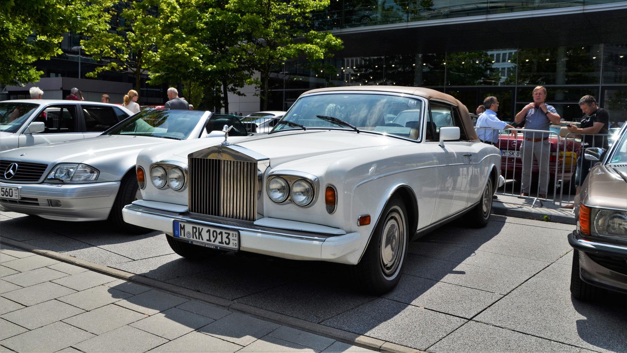 Rolls Royce Corniche - M-RK-1913