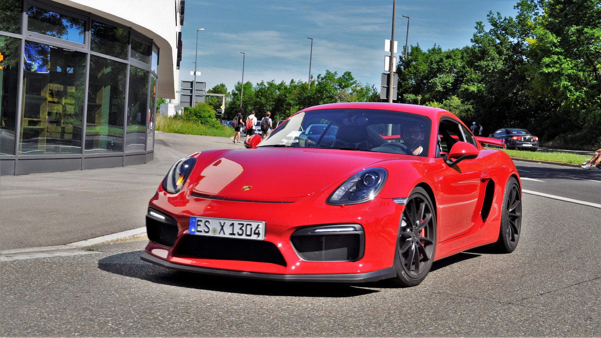 Porsche Cayman GT4 - ES-X-1304