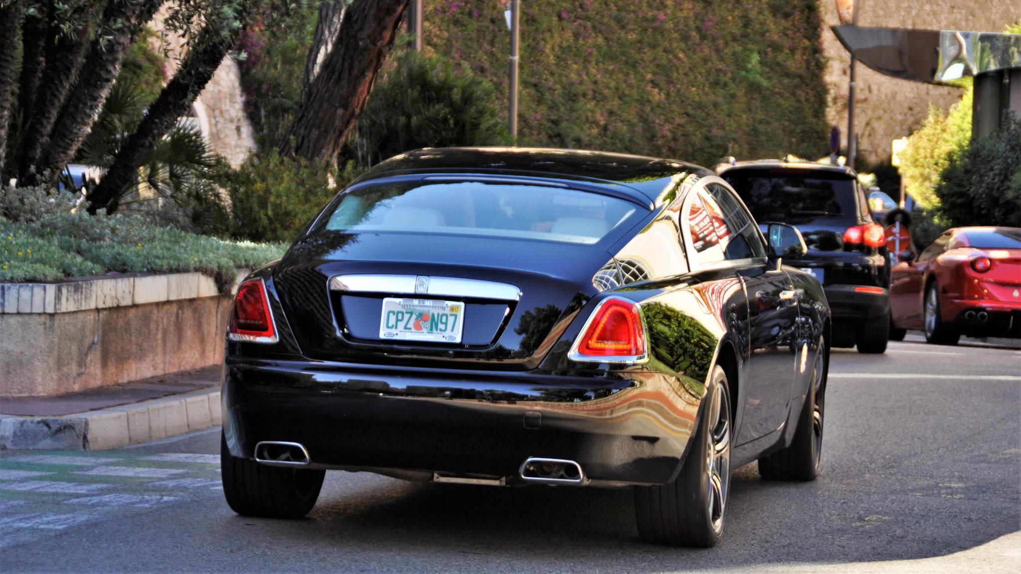 Rolls Royce Wraith - CPZ-N97 (USA)