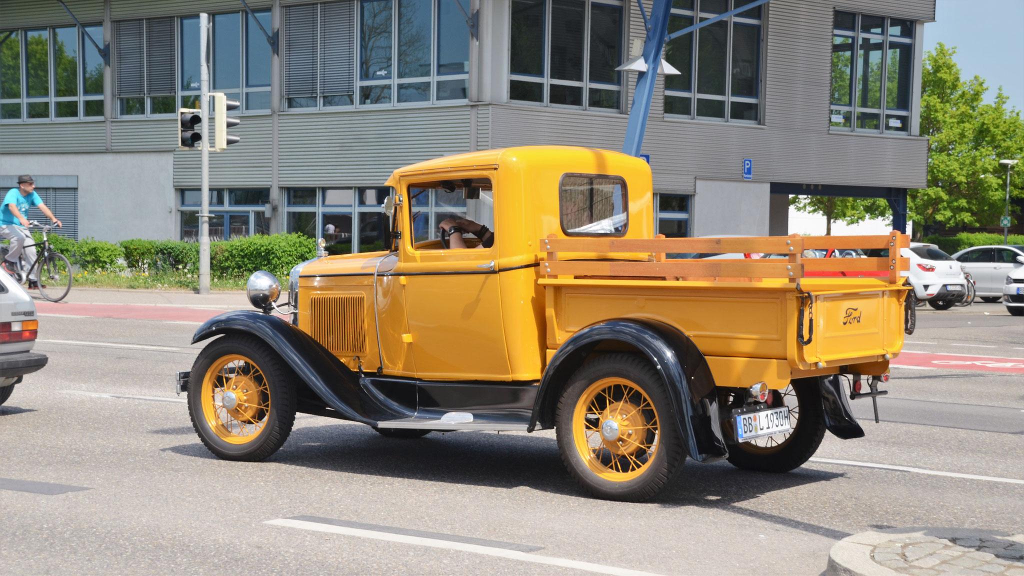 Ford Model A Pickup - BB-L-1930H