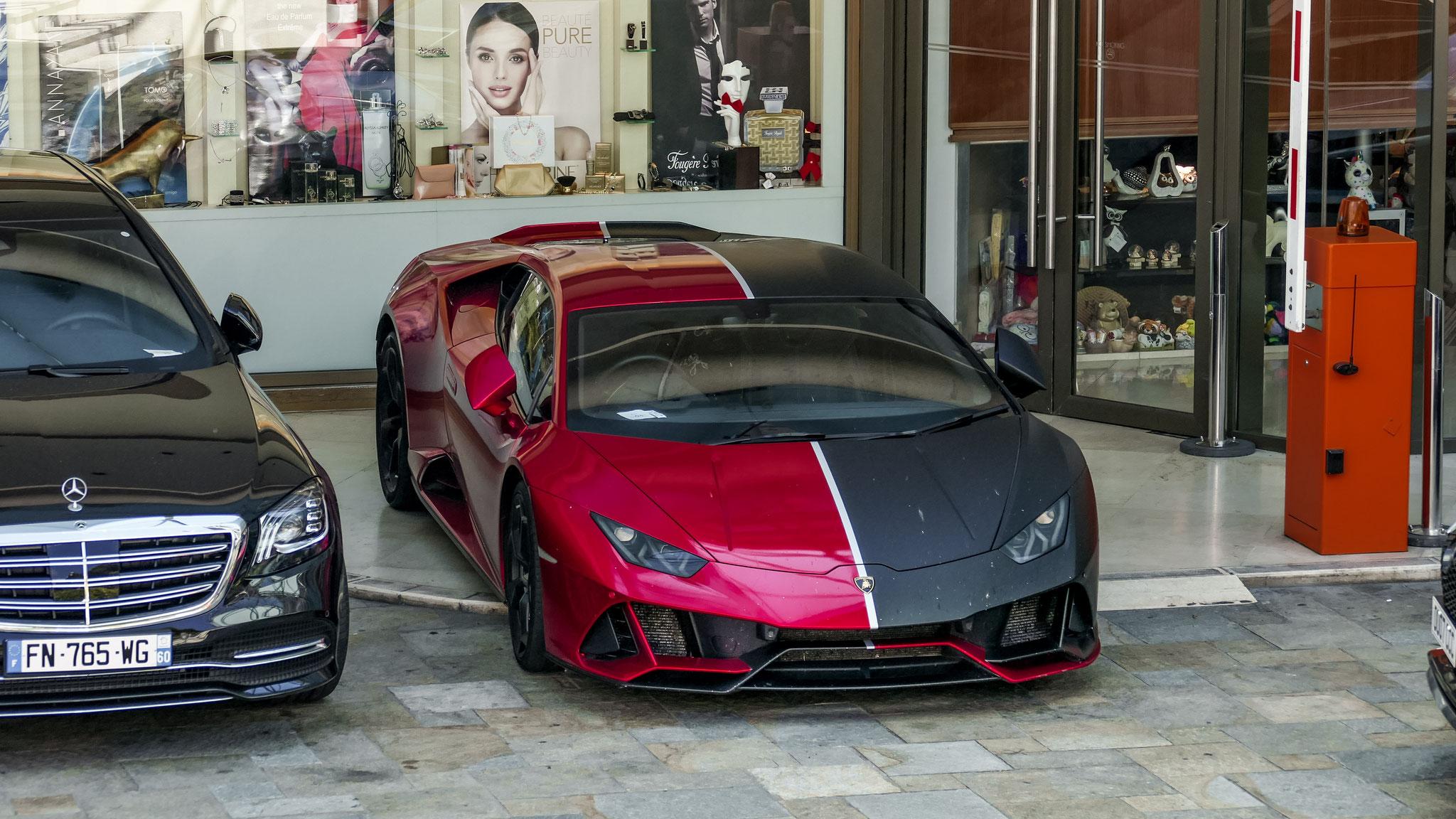Lamborghini Huracan - J4444ONK (GB)