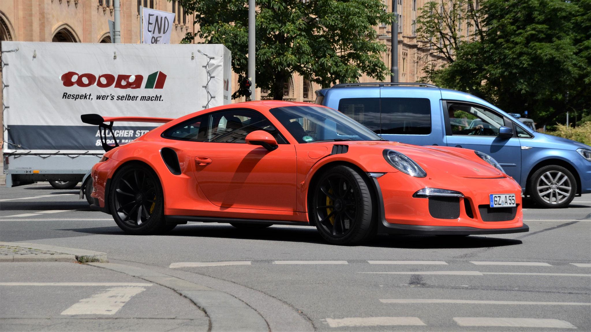 Porsche 911 GT3 RS - GZ-A-55