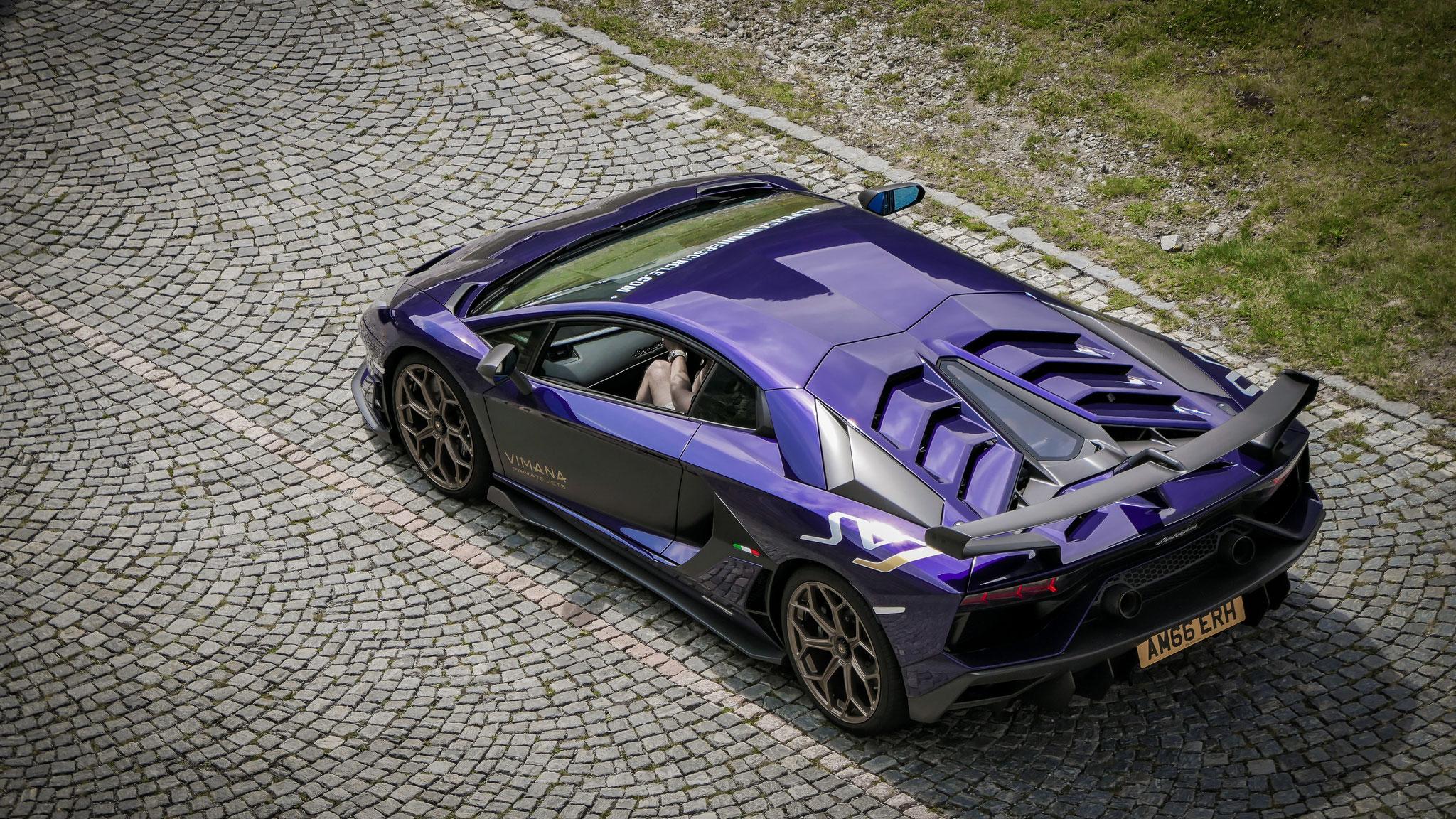 Lamborghini Aventador LP 770 SVJ - AM66-ERH (GB)