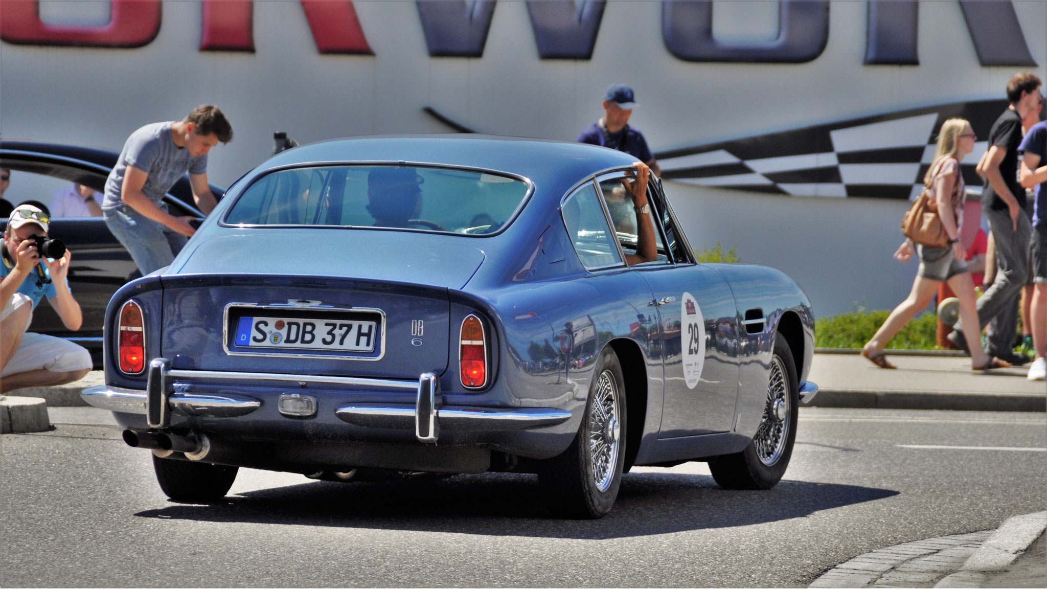 Aston Martin DB6 - S-DB-37H