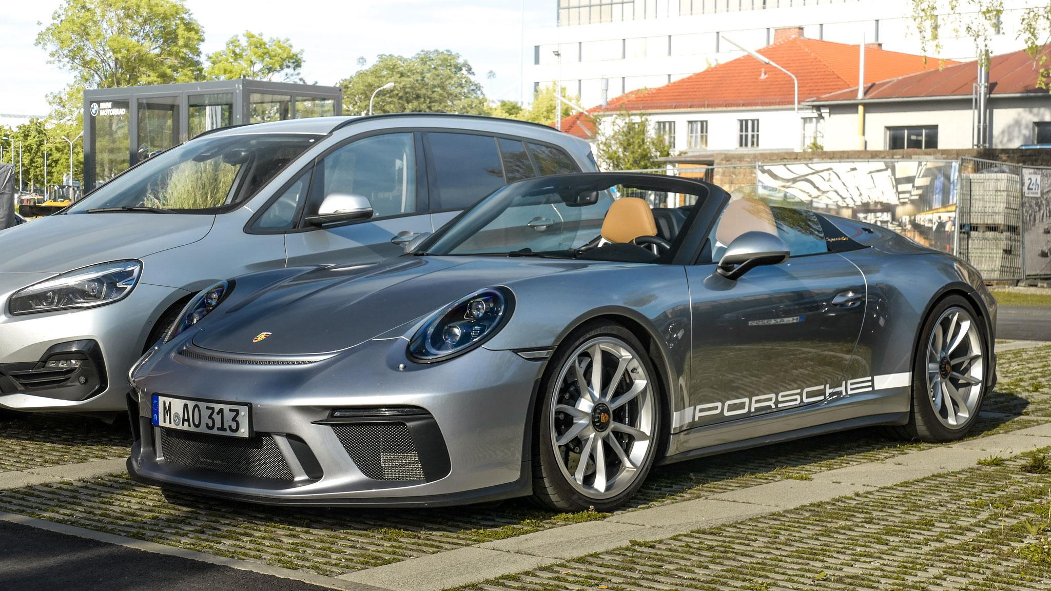 Porsche 991 Speedster - M-AO-313