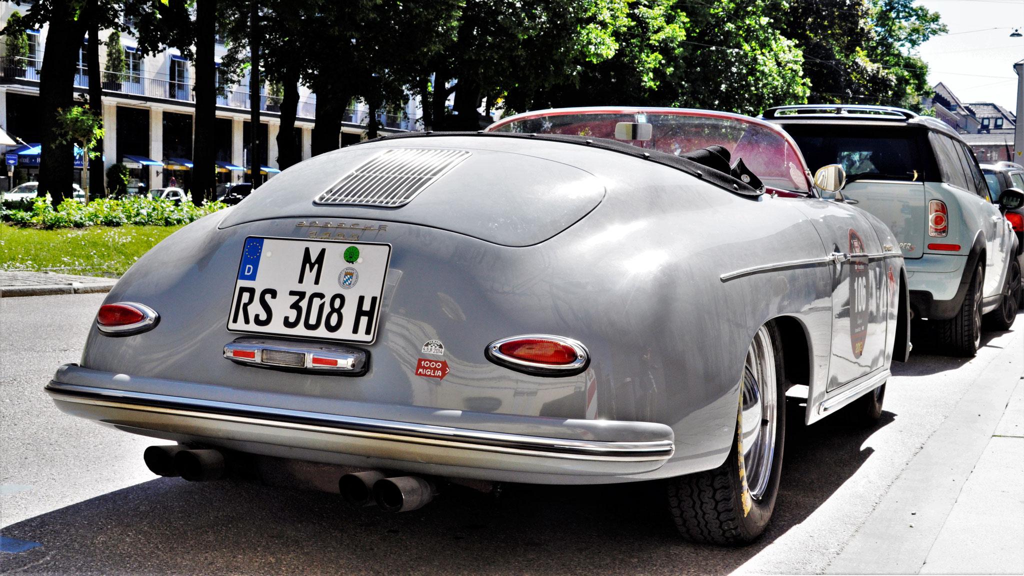 Porsche 356 1500 Speedster - M-RS-308H