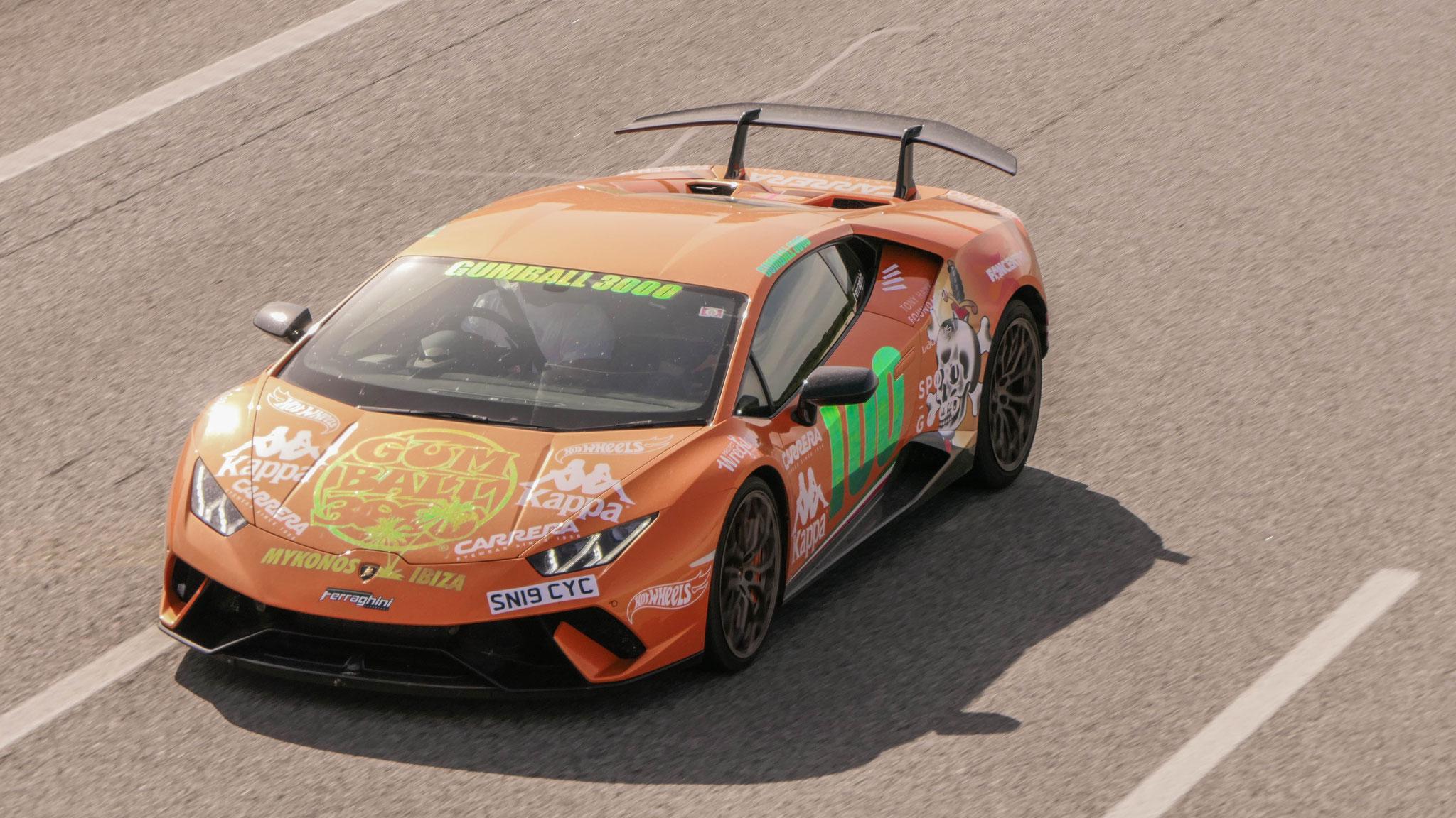 Lamborghini Huracan Performante - SN19-CYC (GB)
