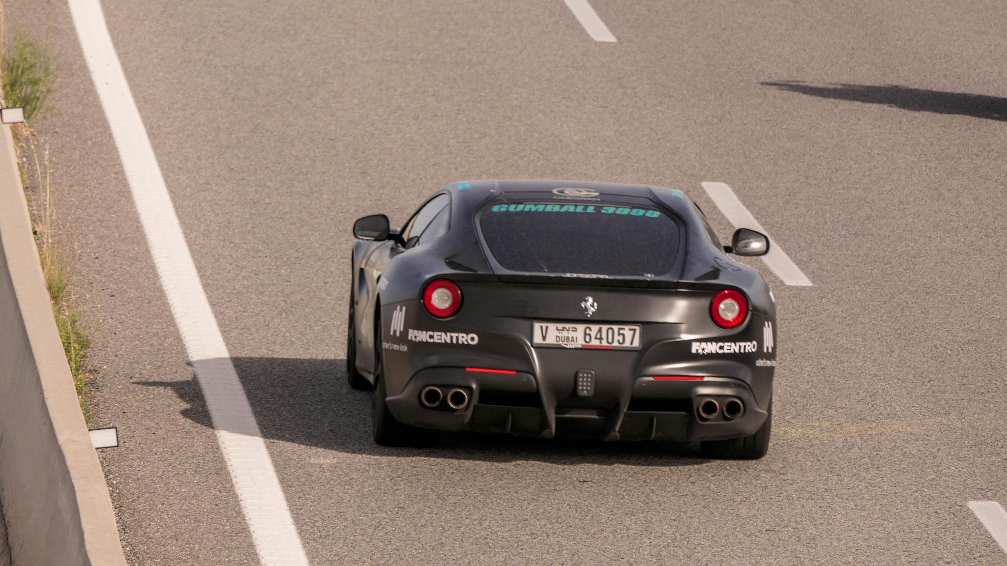 Ferrari F12 Berlinetta - V-64057 (Dubai)