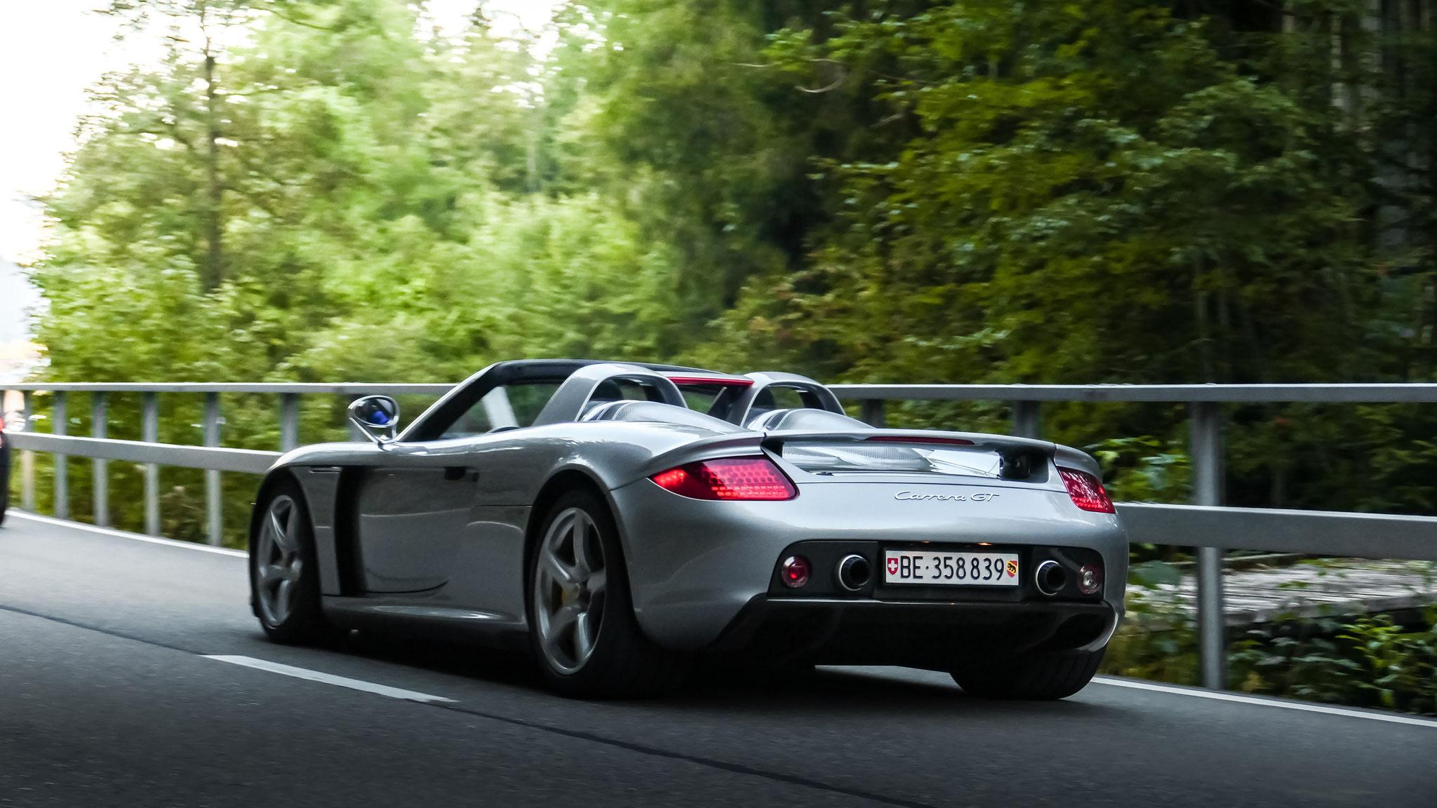 Porsche Carrera GT - BE-358839 (CH)