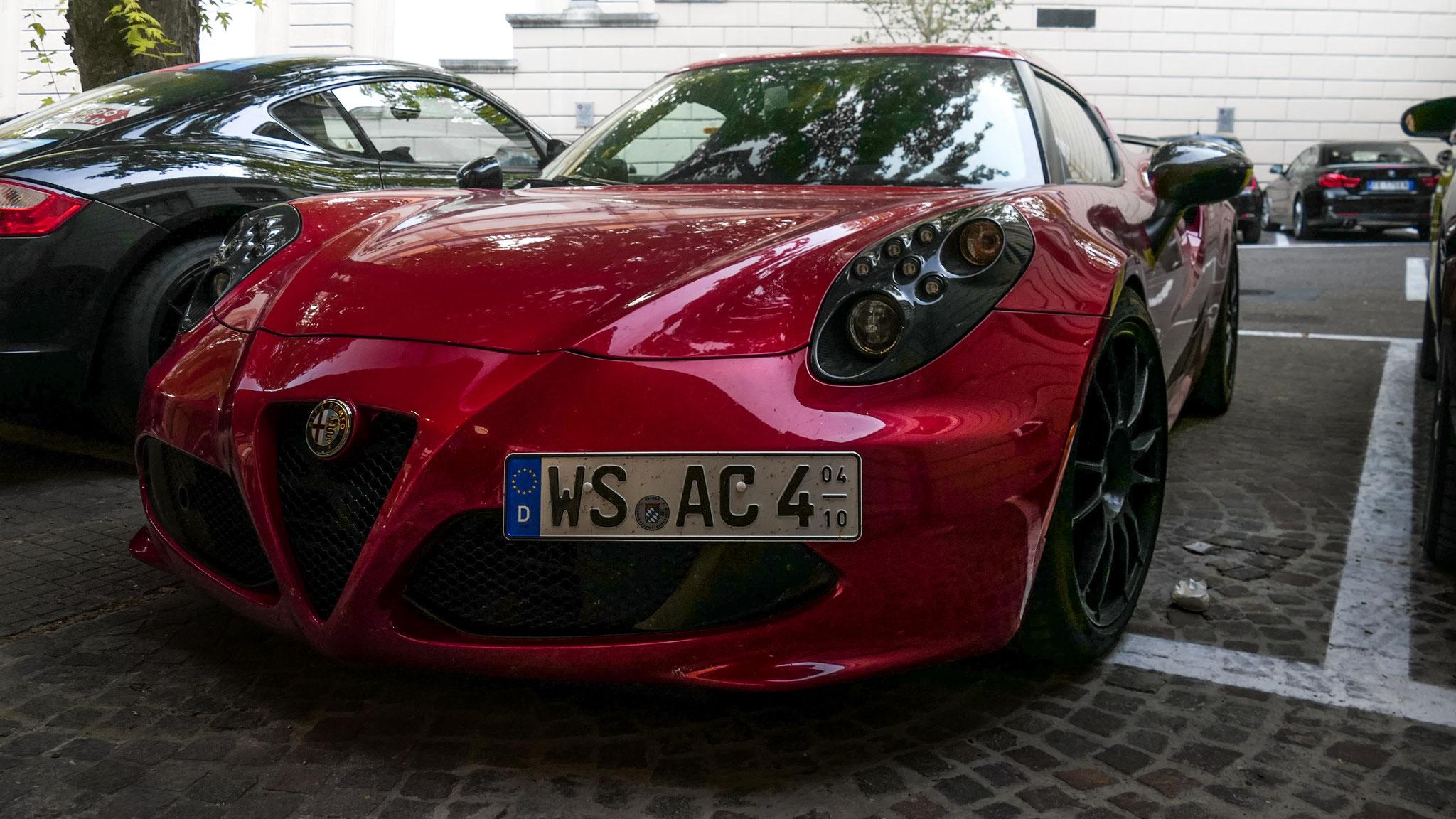Alfa Romeo 4C - WS-AC-4