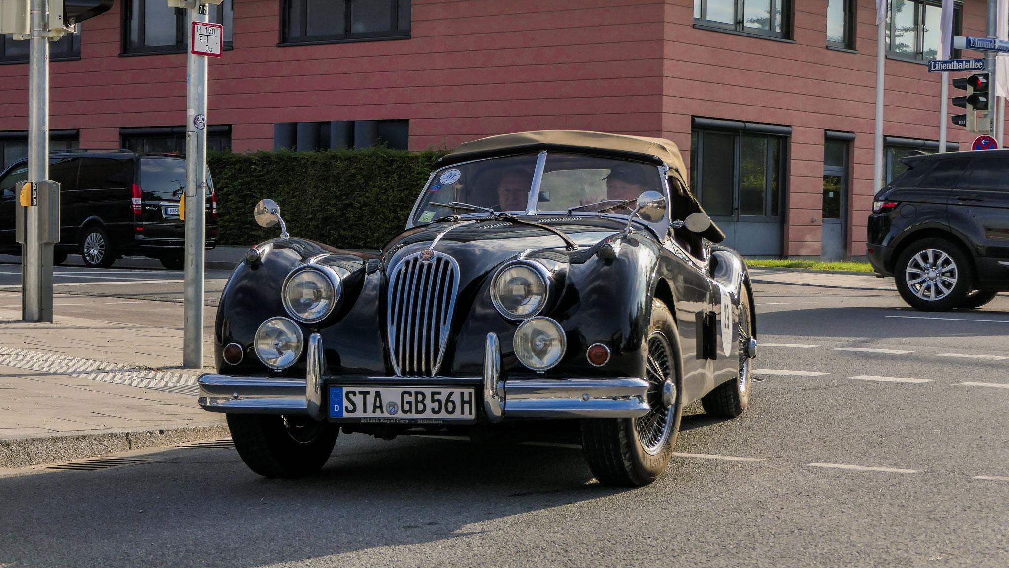 Jaguar XK 140 Cabrio - STA-GB-56H