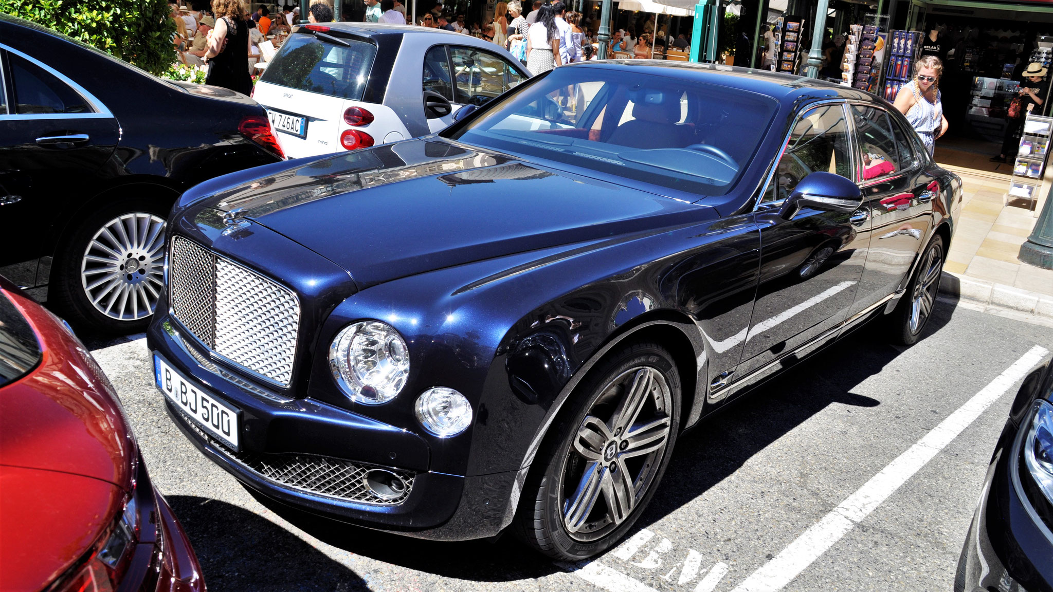 Bentley Mulsanne - B-BJ-500
