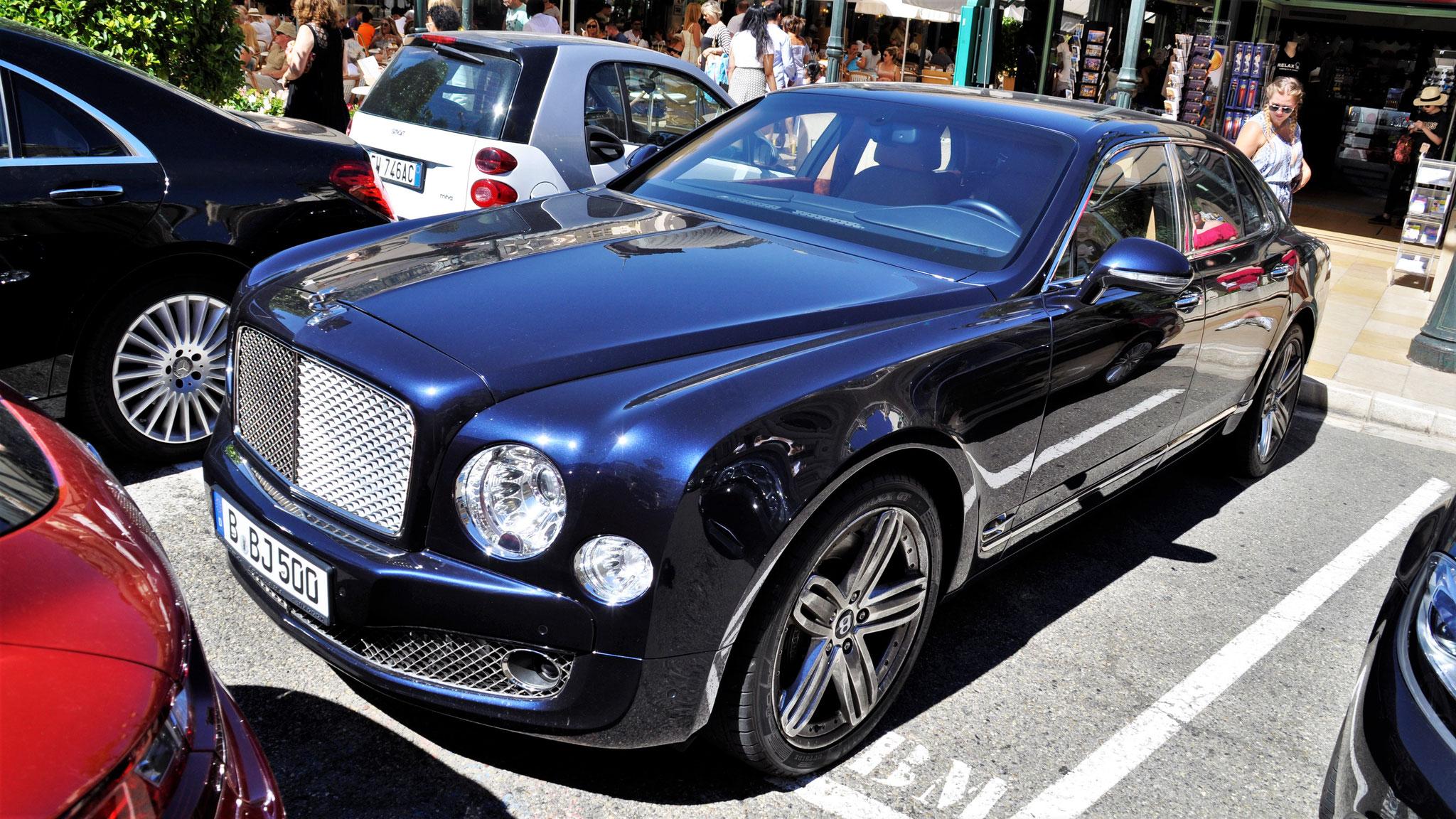 Bentley Mulsanne - B-BJ-500