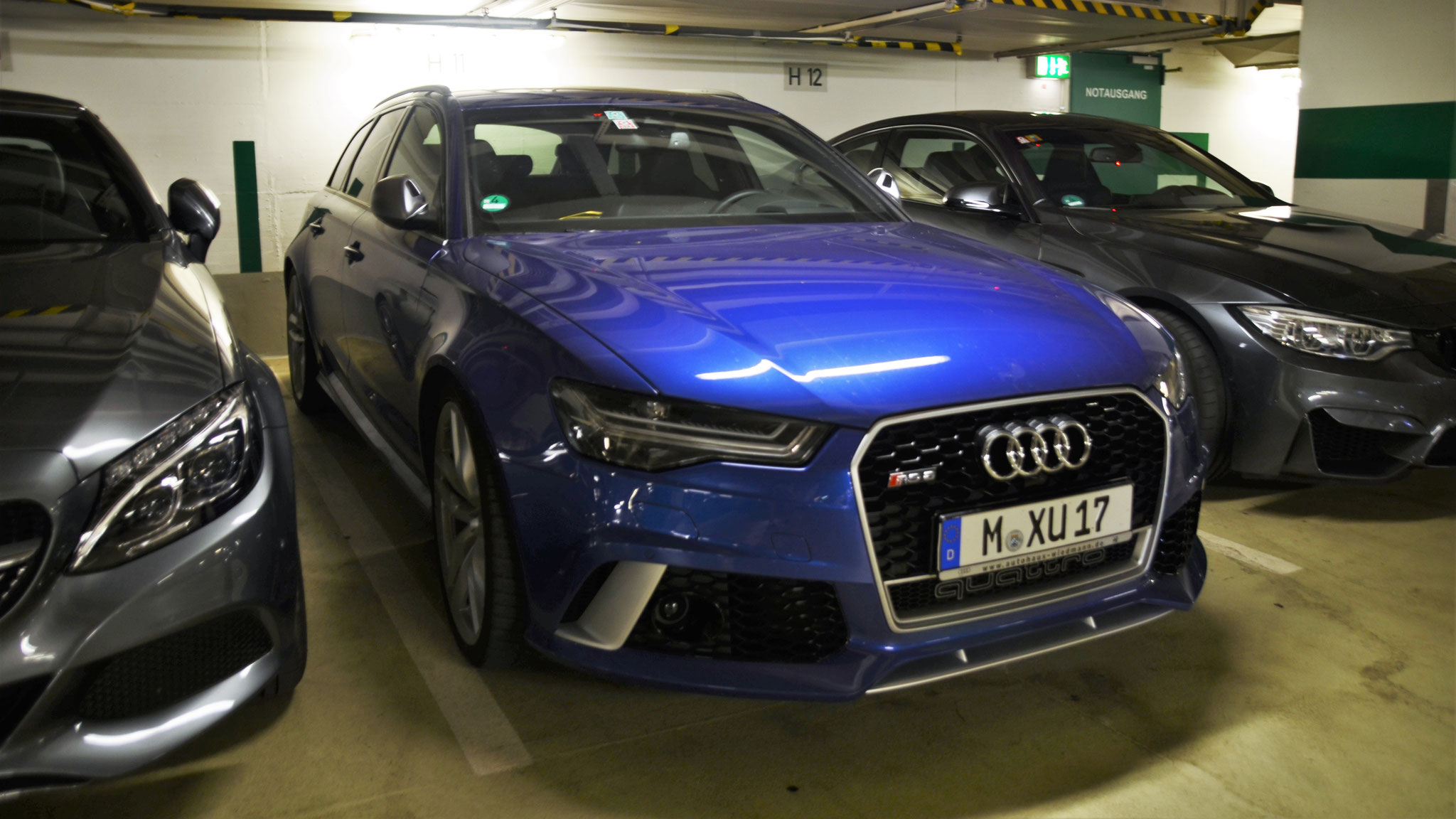 Audi RS6 - M-XU-17