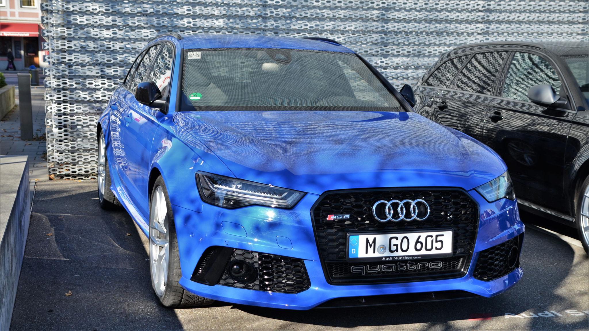 Audi RS6 Performance - M-GO-605