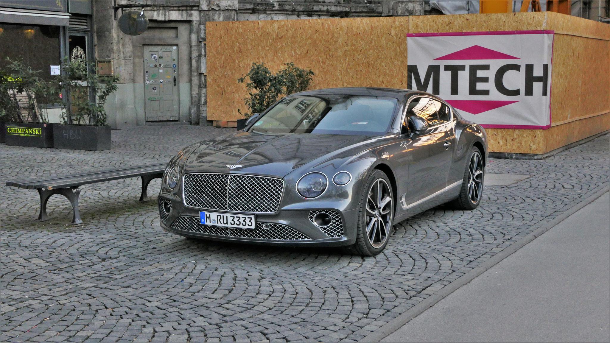 Bentley Continental GT - M-RU-3333