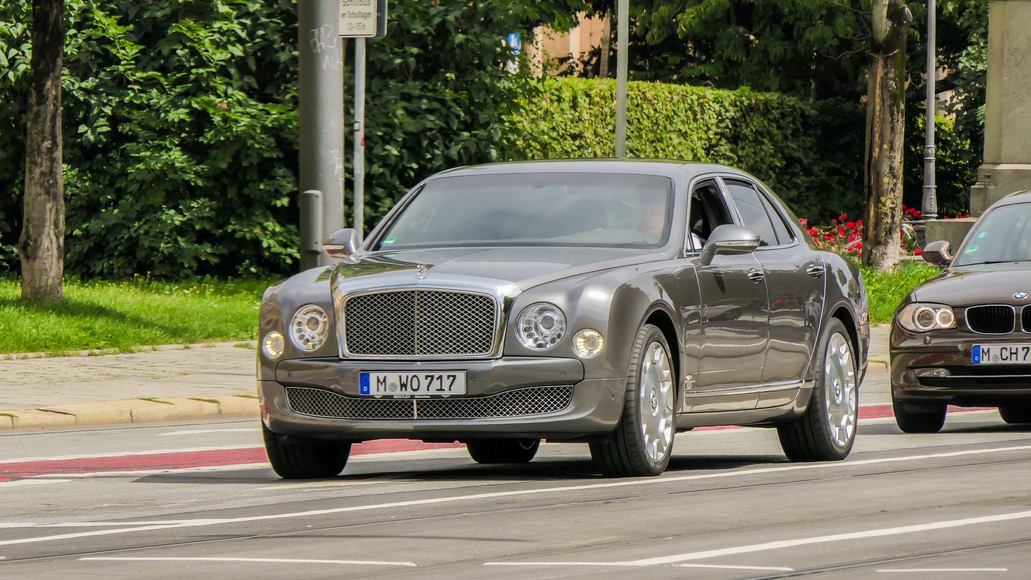 Bentley Mulsanne - M-WO-717