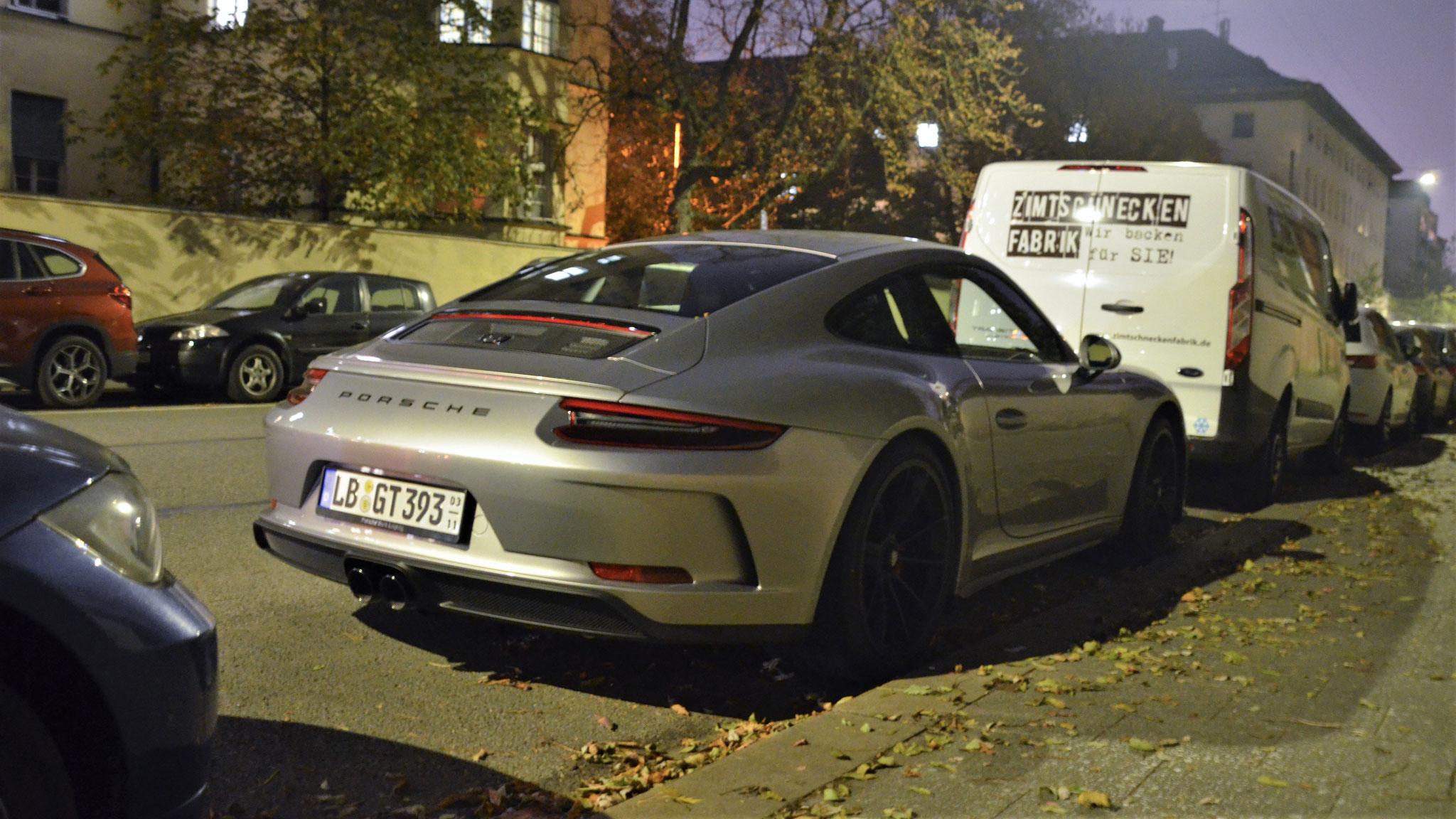 Porsche 991 GT3 Touring Package - LB-GT-393