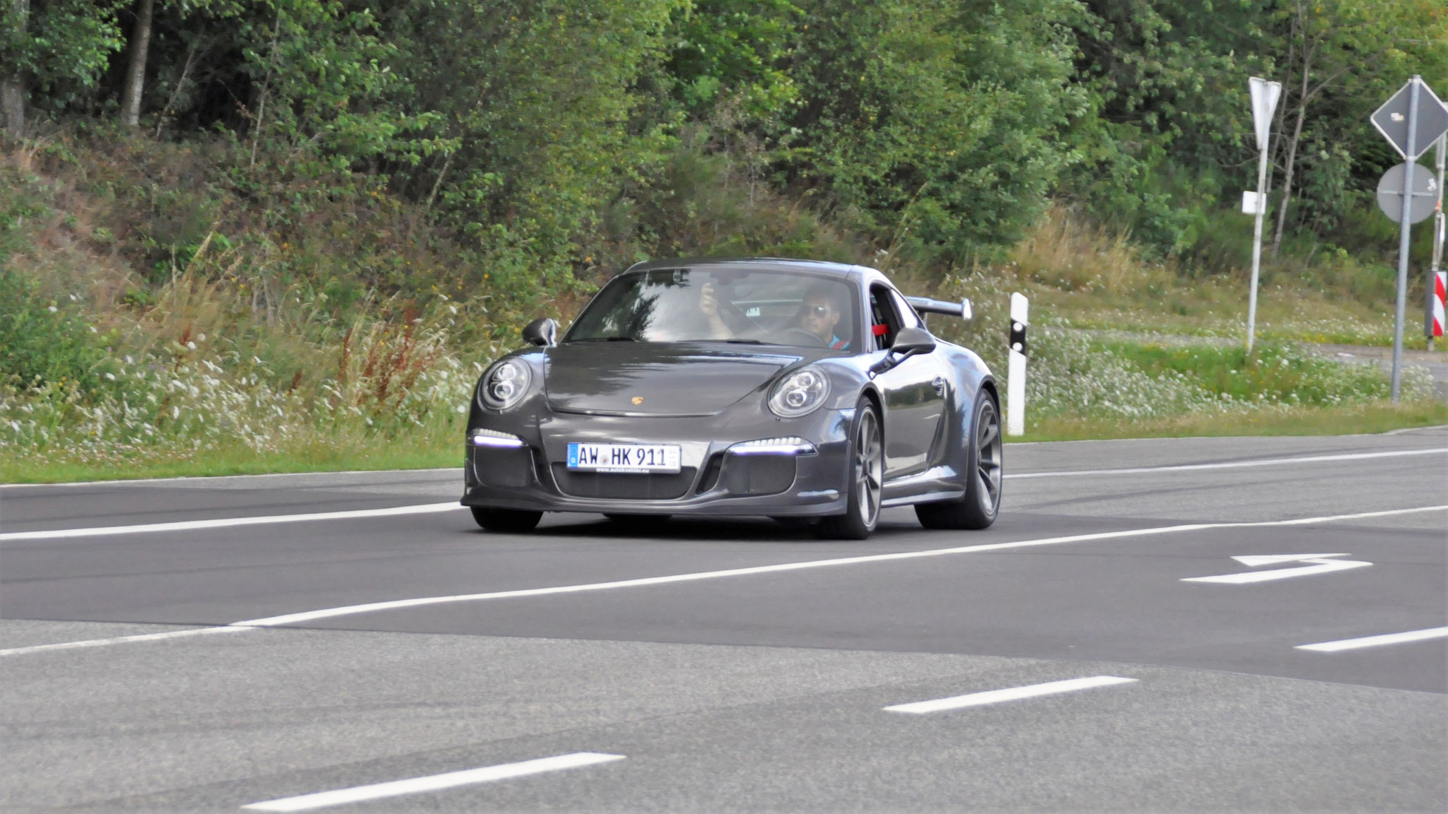 Porsche 991 GT3 - AW-HK-911