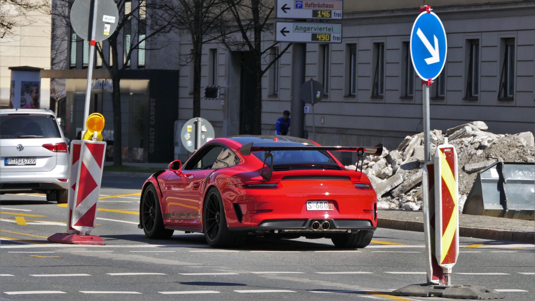 Porsche 911 991.2 GT3 RS - S-68-O