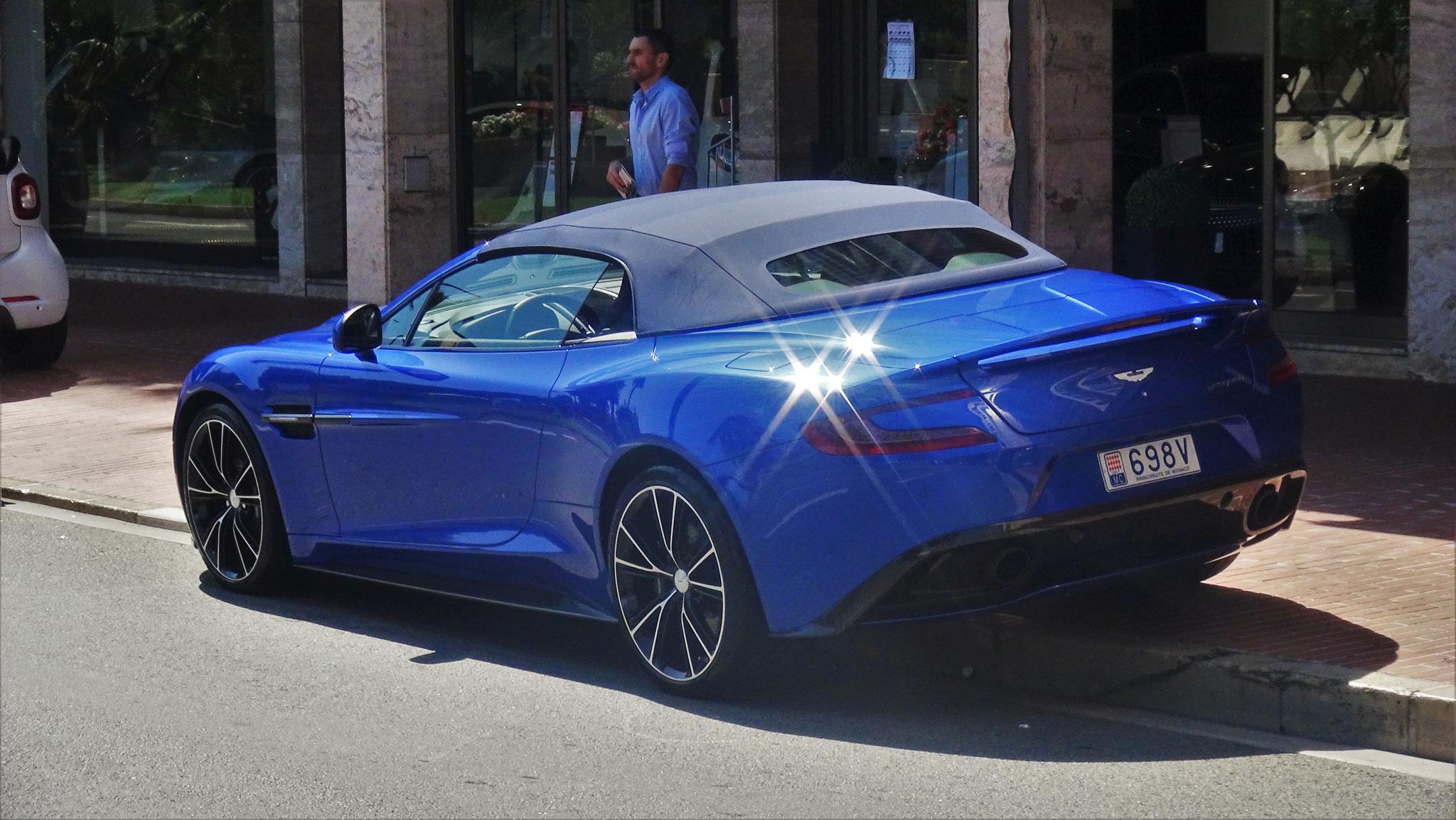 Aston Martin Vanquish Volante - 698V (MC)