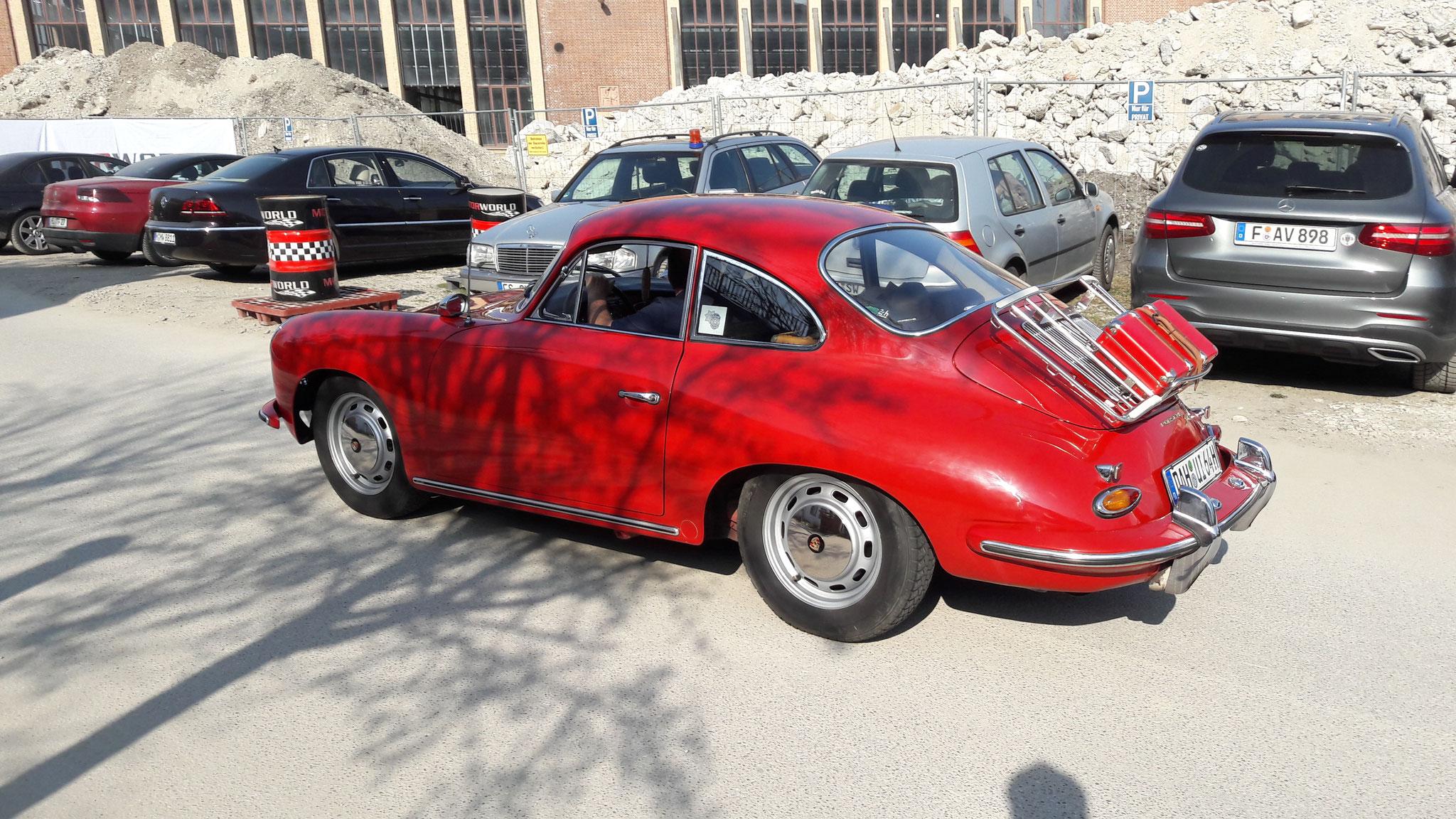Porsche 356 1600SC - DAH-UI-64H