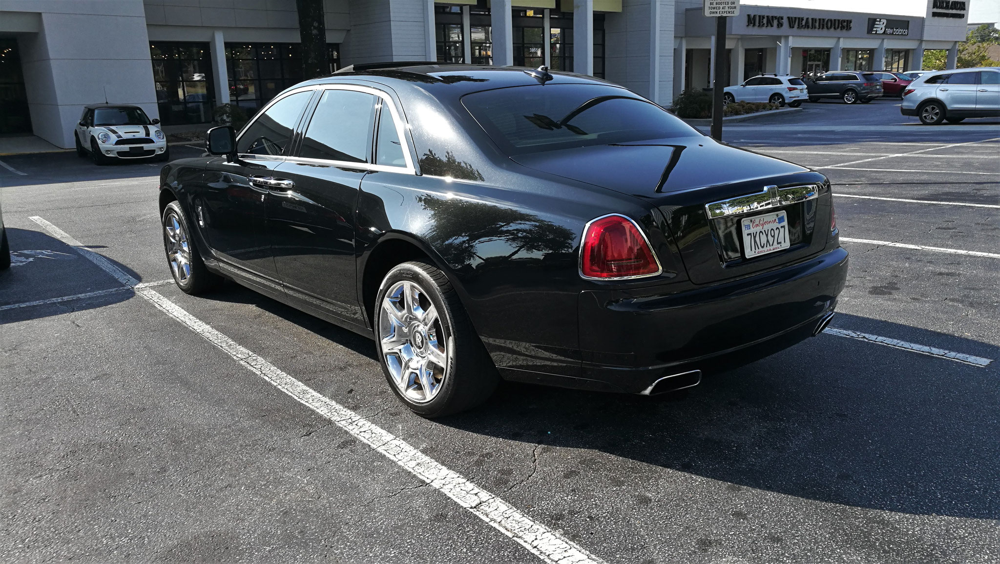 Rolls Royce Ghost Series II - 7KCX927 (USA)