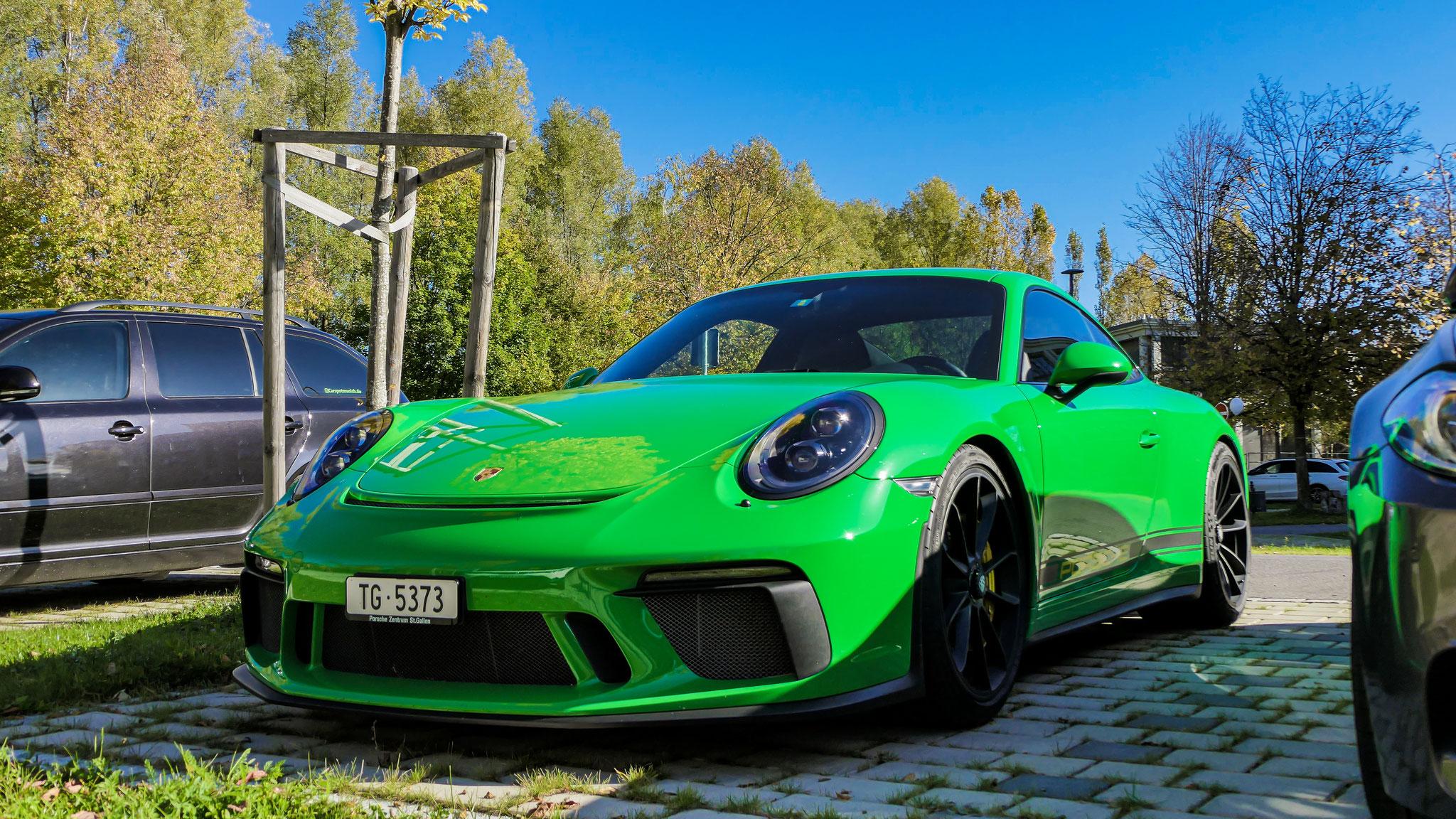 Porsche 991 GT3 Touring Package - TG-5373 (CH)