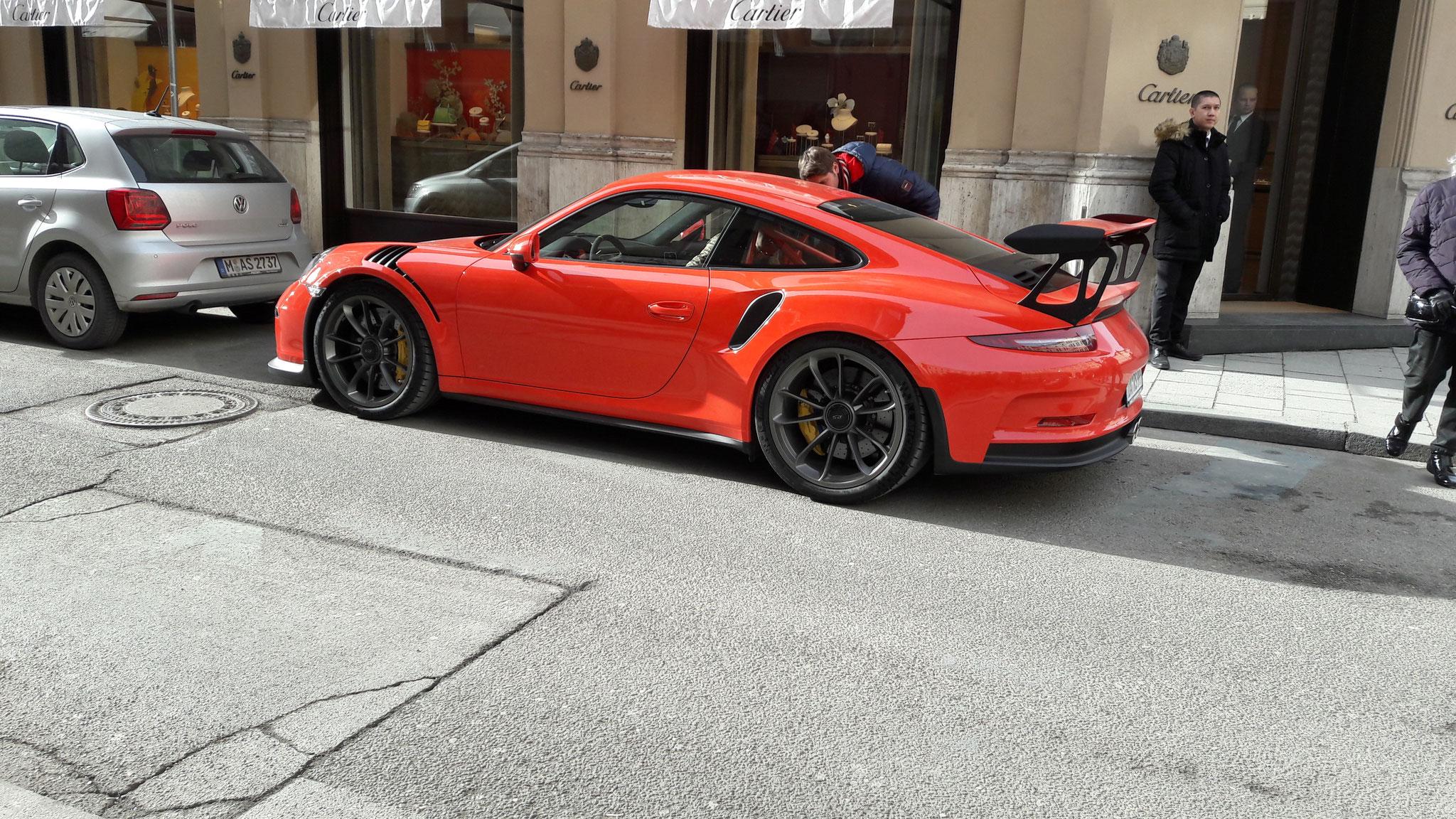 Porsche 911 GT3 RS - DA-RS-999