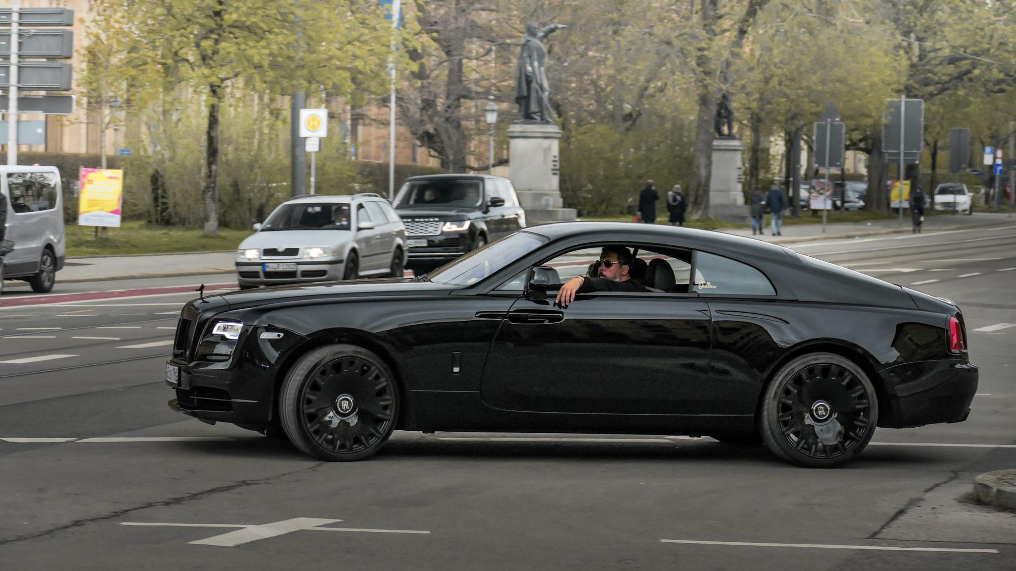 Rolls Royce Wraith - O-465-CB-198 (RUS)