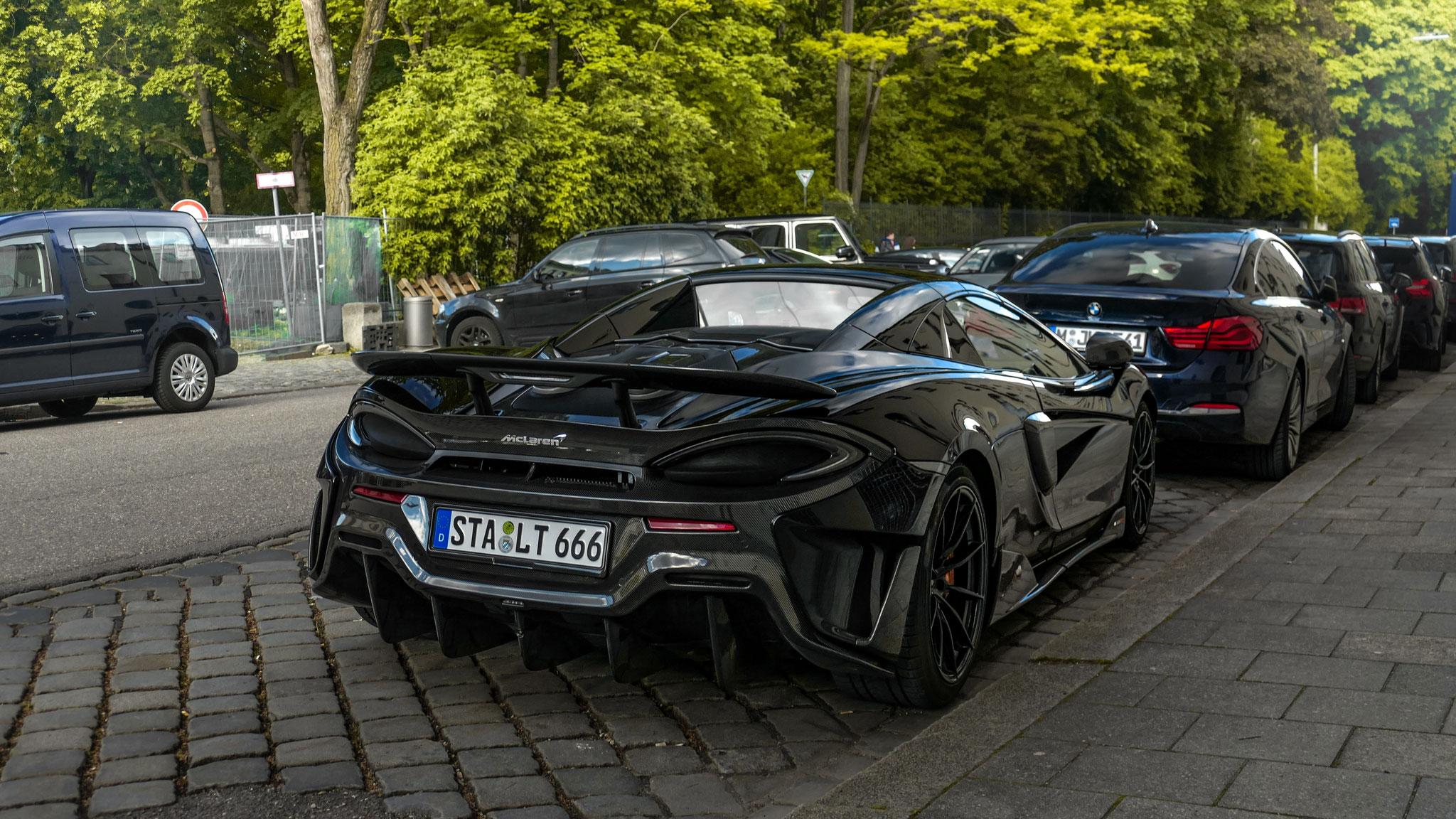 McLaren 600LT Spider - STA-LT-666