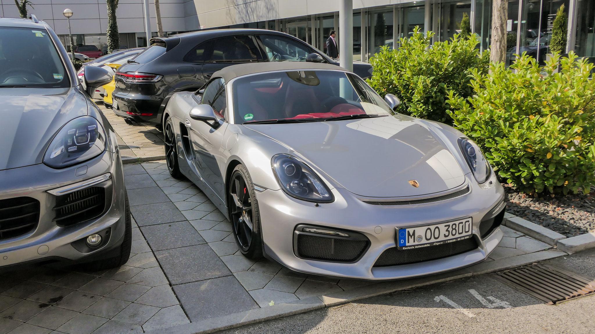 Porsche 718 Spyder - M-OO-3800