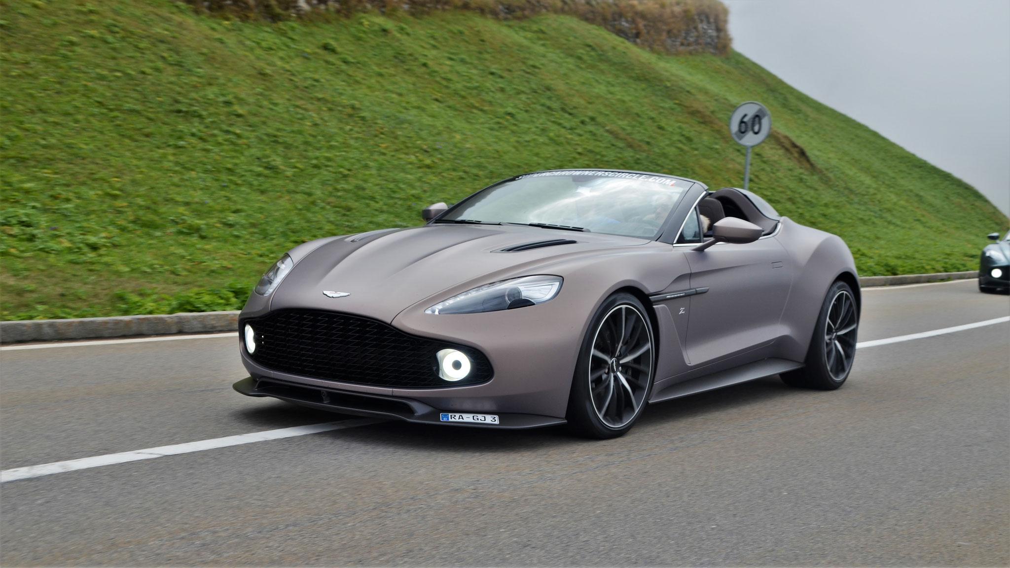 Aston Martin Vanquish Zagato Speedster - RA-GJ-3 (1 of 28)