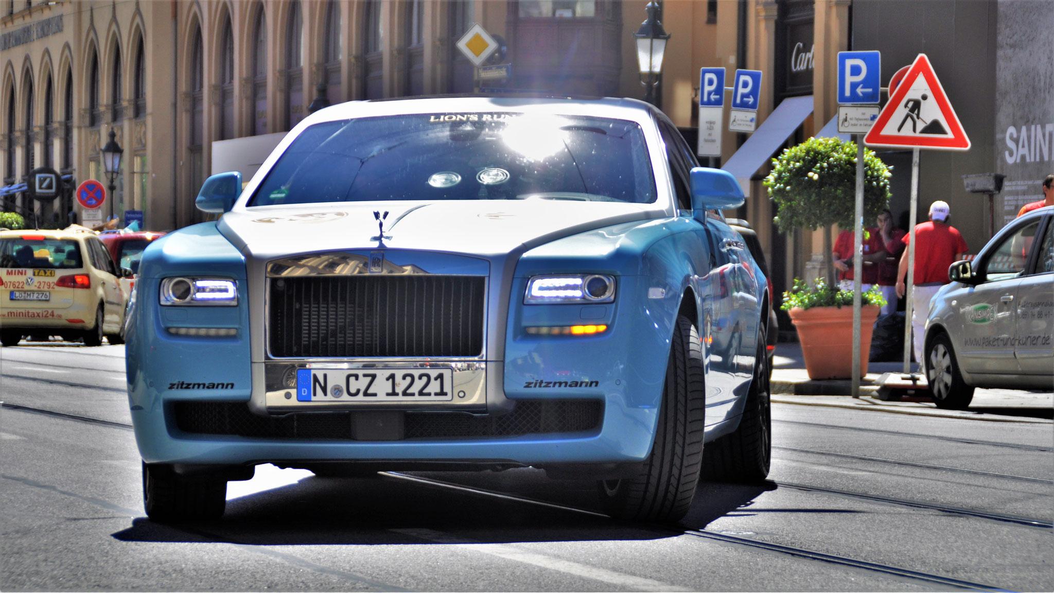 Rolls Royce Ghost - N-CZ-1221