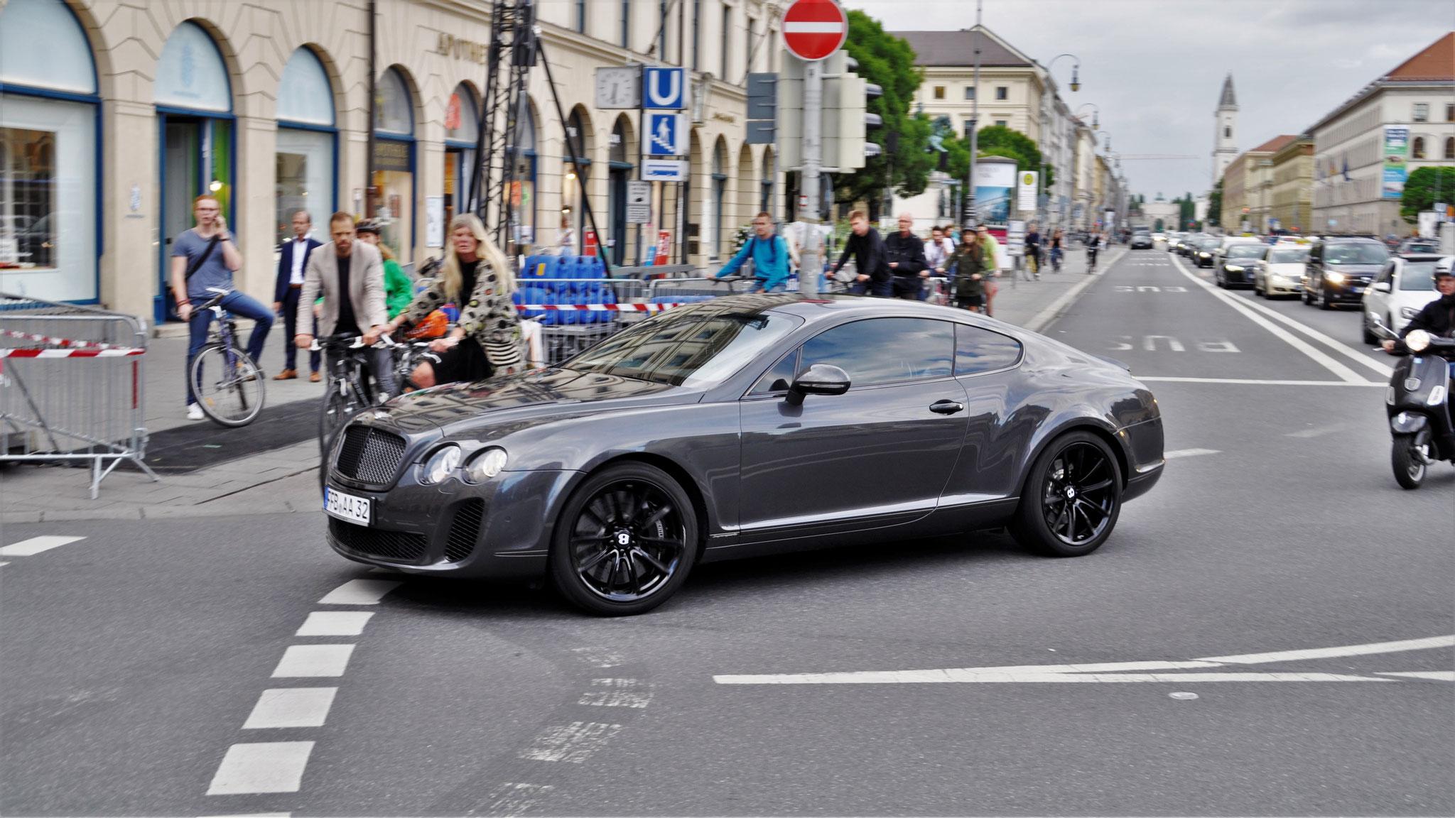 Bentley Continental GT Supersports - FFB-AA-32