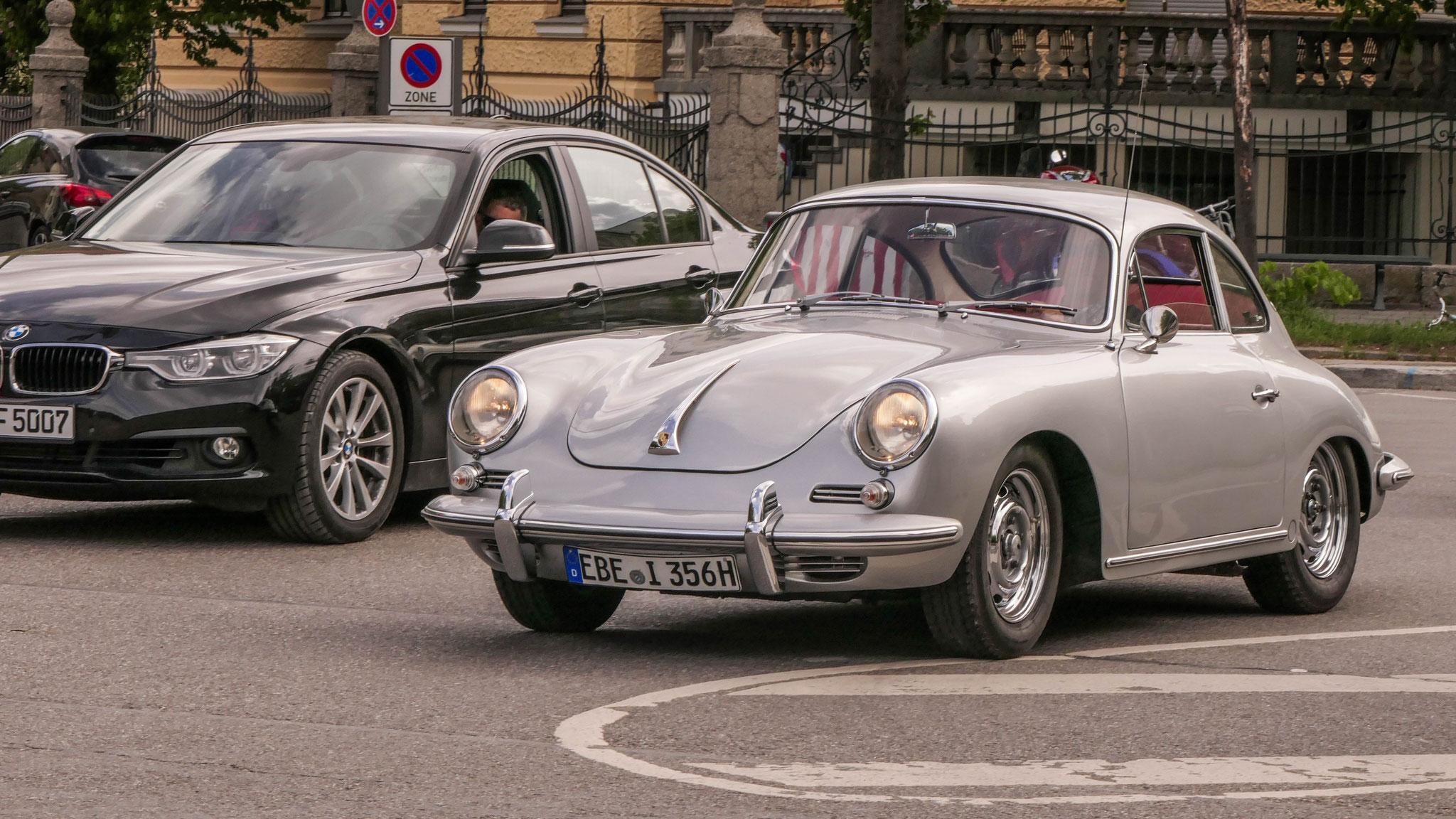 Porsche 356 SC - EBE-I-356H