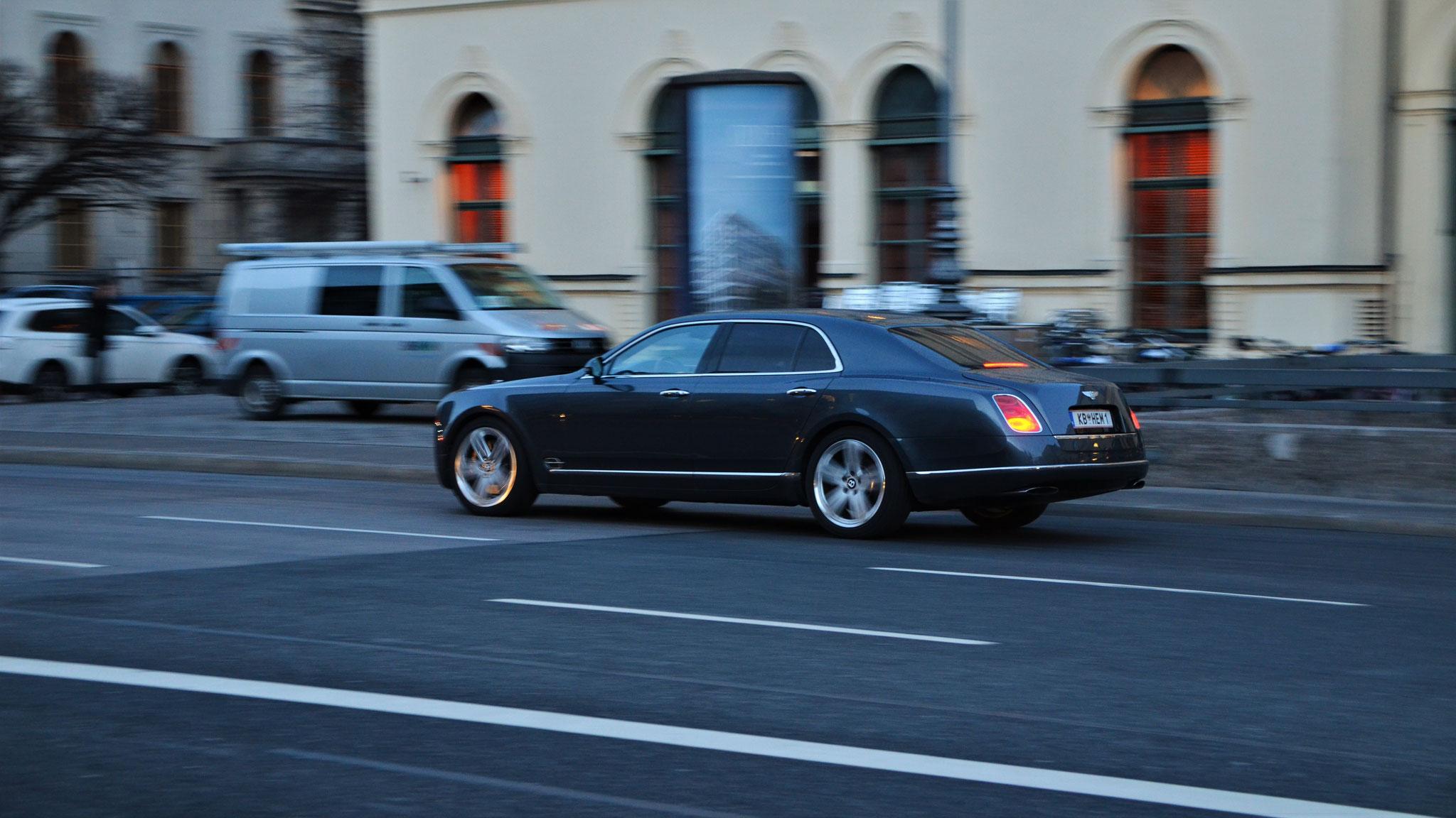 Bentley Mulsanne - KB-HEM-1 (AUT)