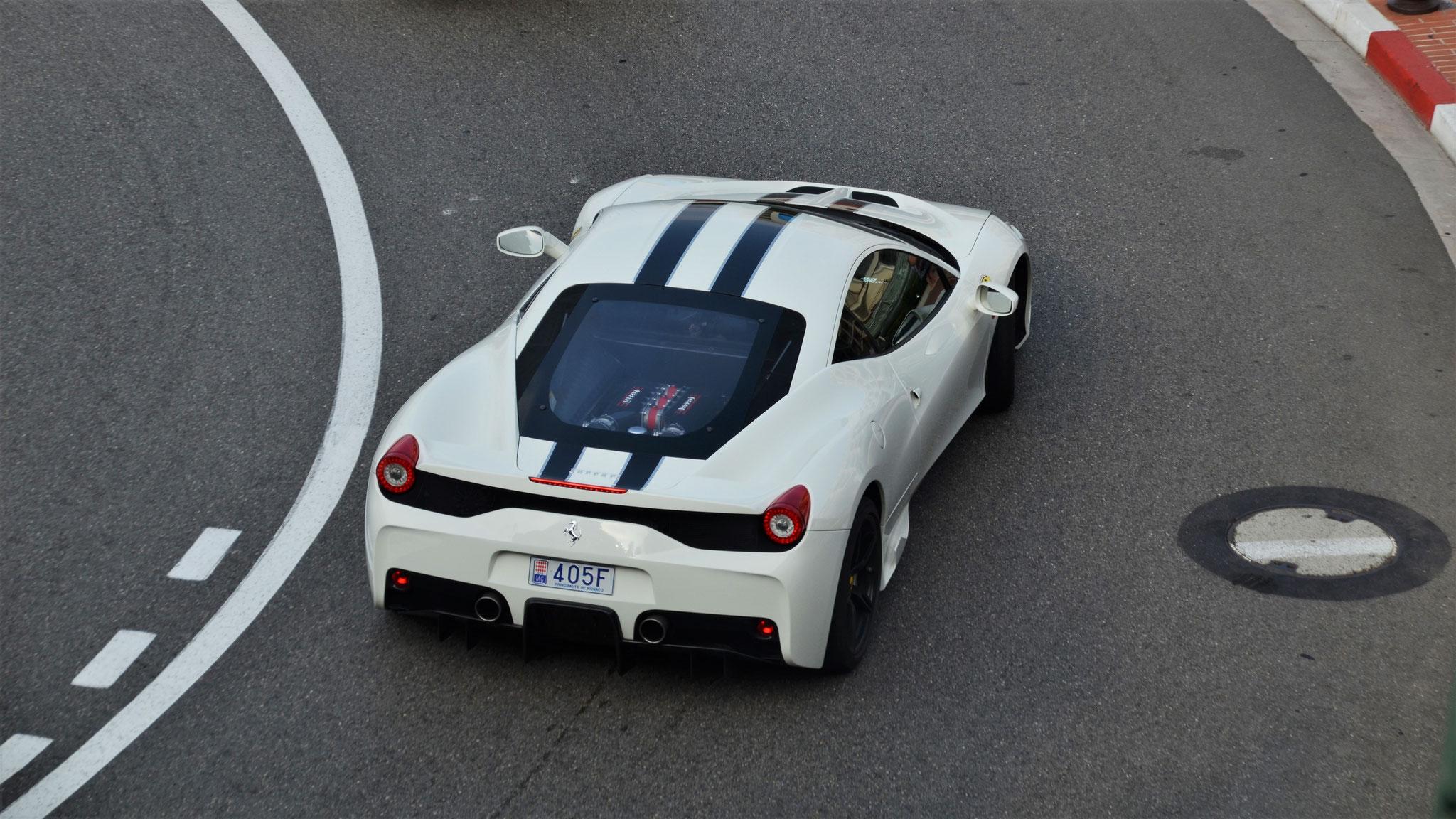 Ferrari 458 Speciale - 405F (MC)