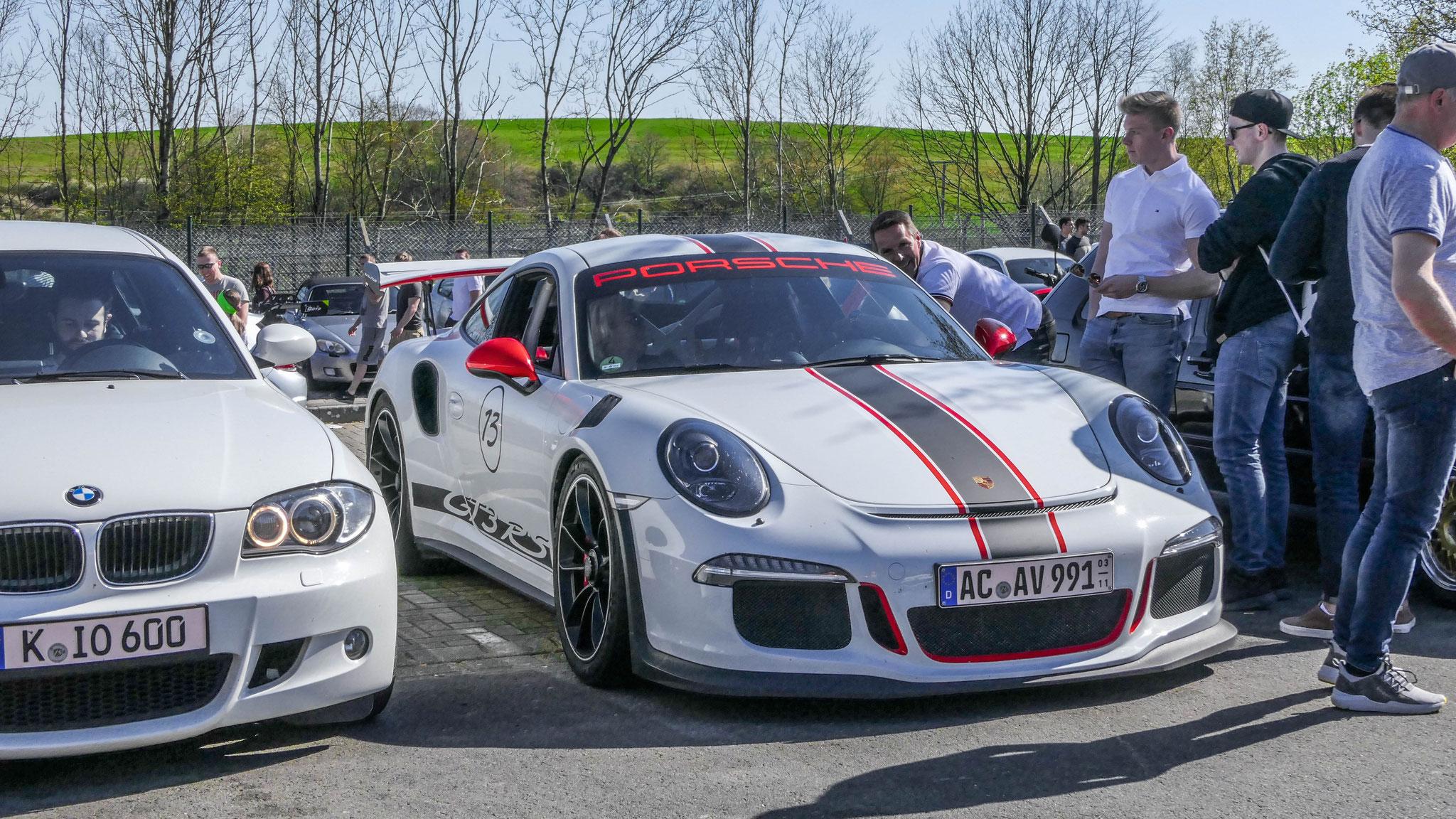 Porsche 911 GT3 RS - AC-AV-991