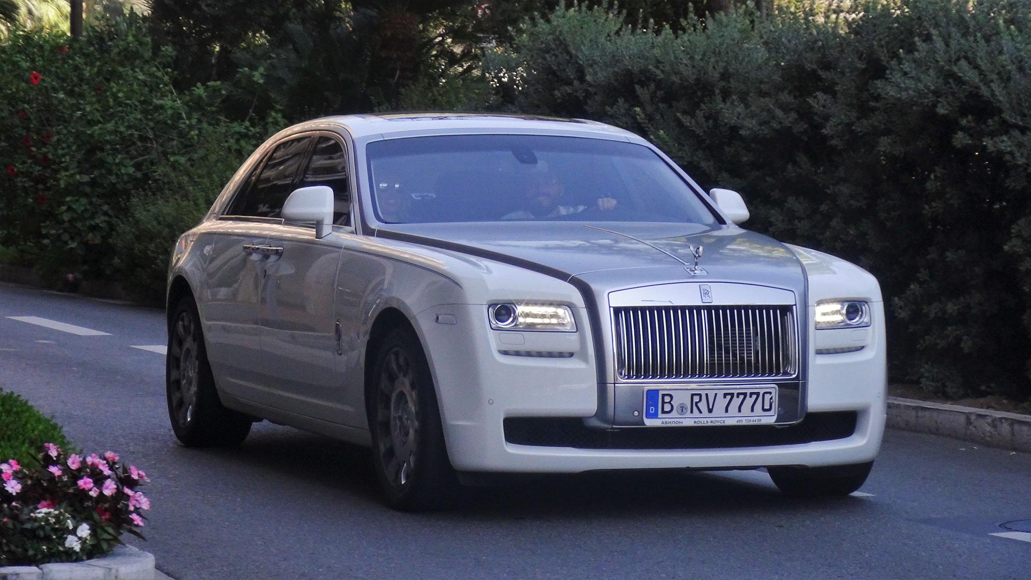 Rolls Royce Ghost - B-RV-7770