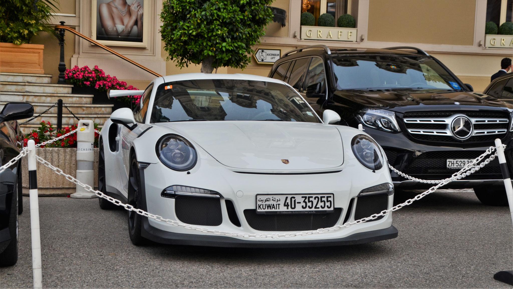Porsche 911 GT3 RS - 40-35255 (KWT)