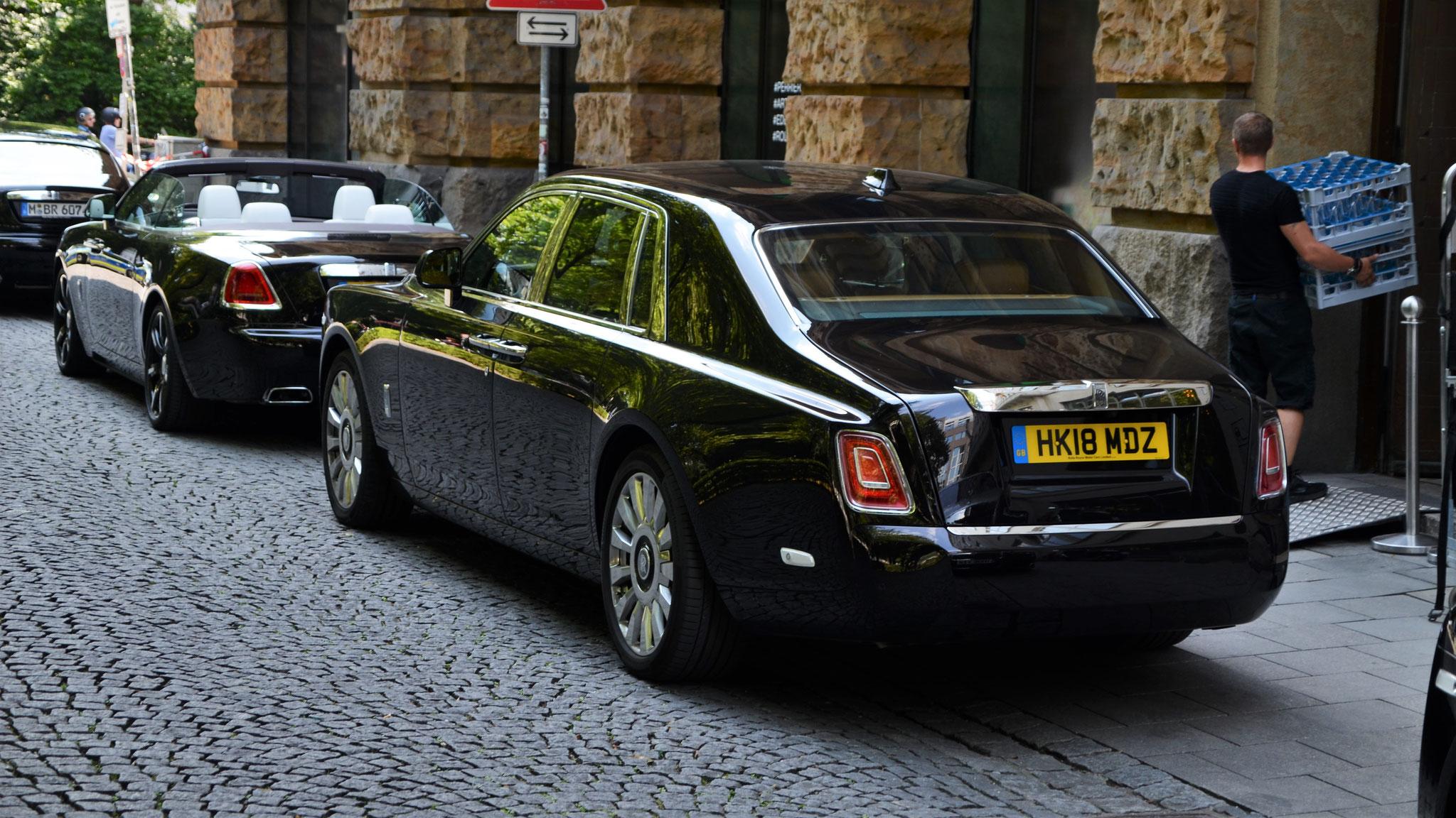 Rolls Royce Phantom - HK18-MDZ (GB)