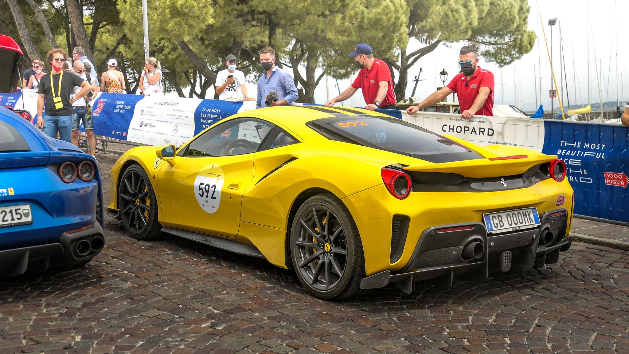 Ferrari 488 Pista - GB-000-MK (ITA)